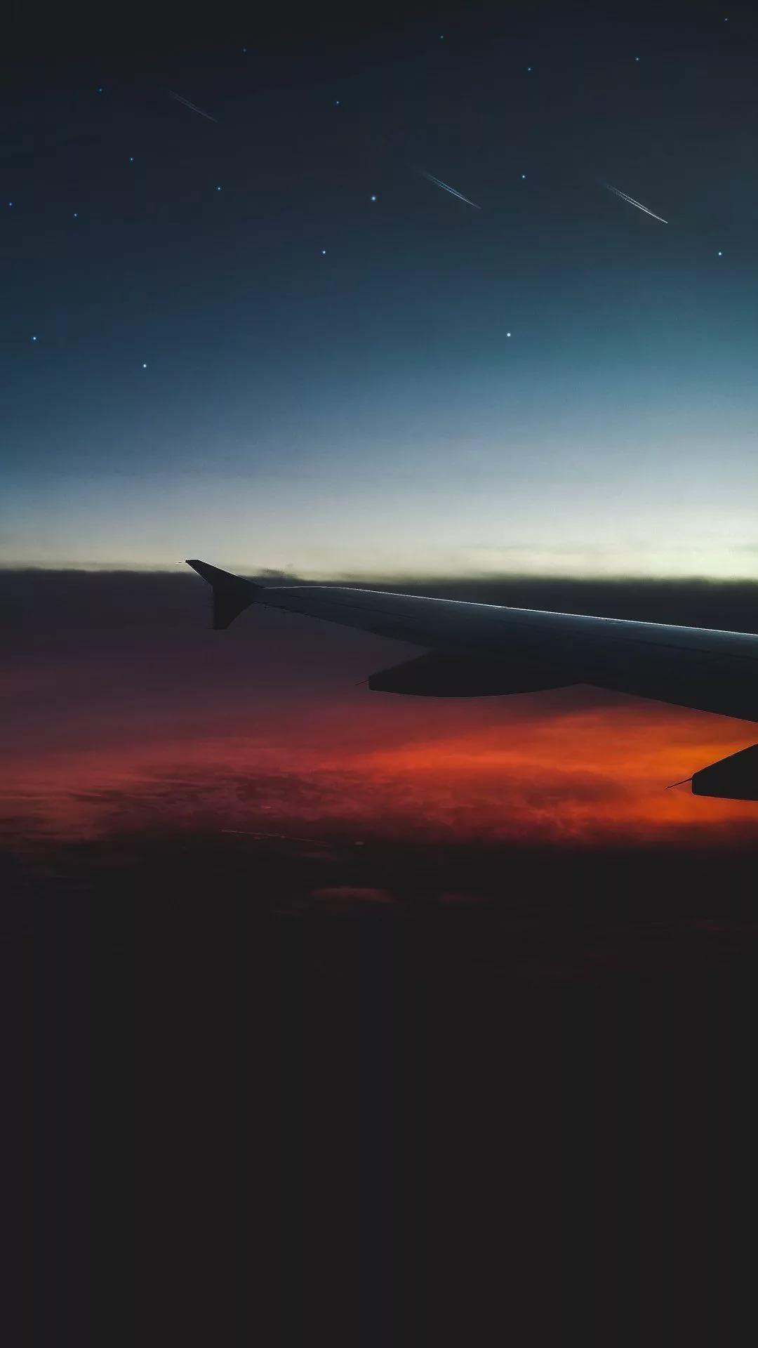 Airplane iPhone se wallpaper