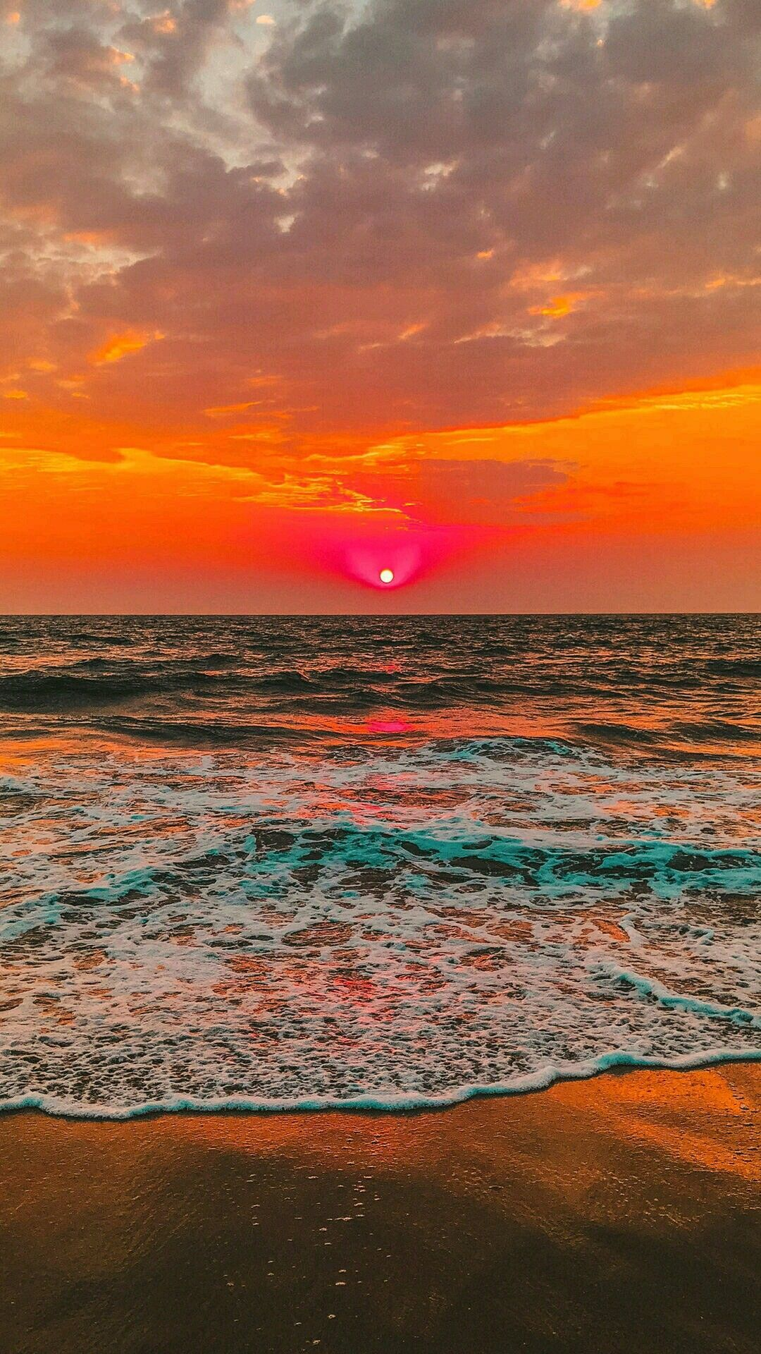 Beautiful Sunset iPhone 6s plus wallpaper