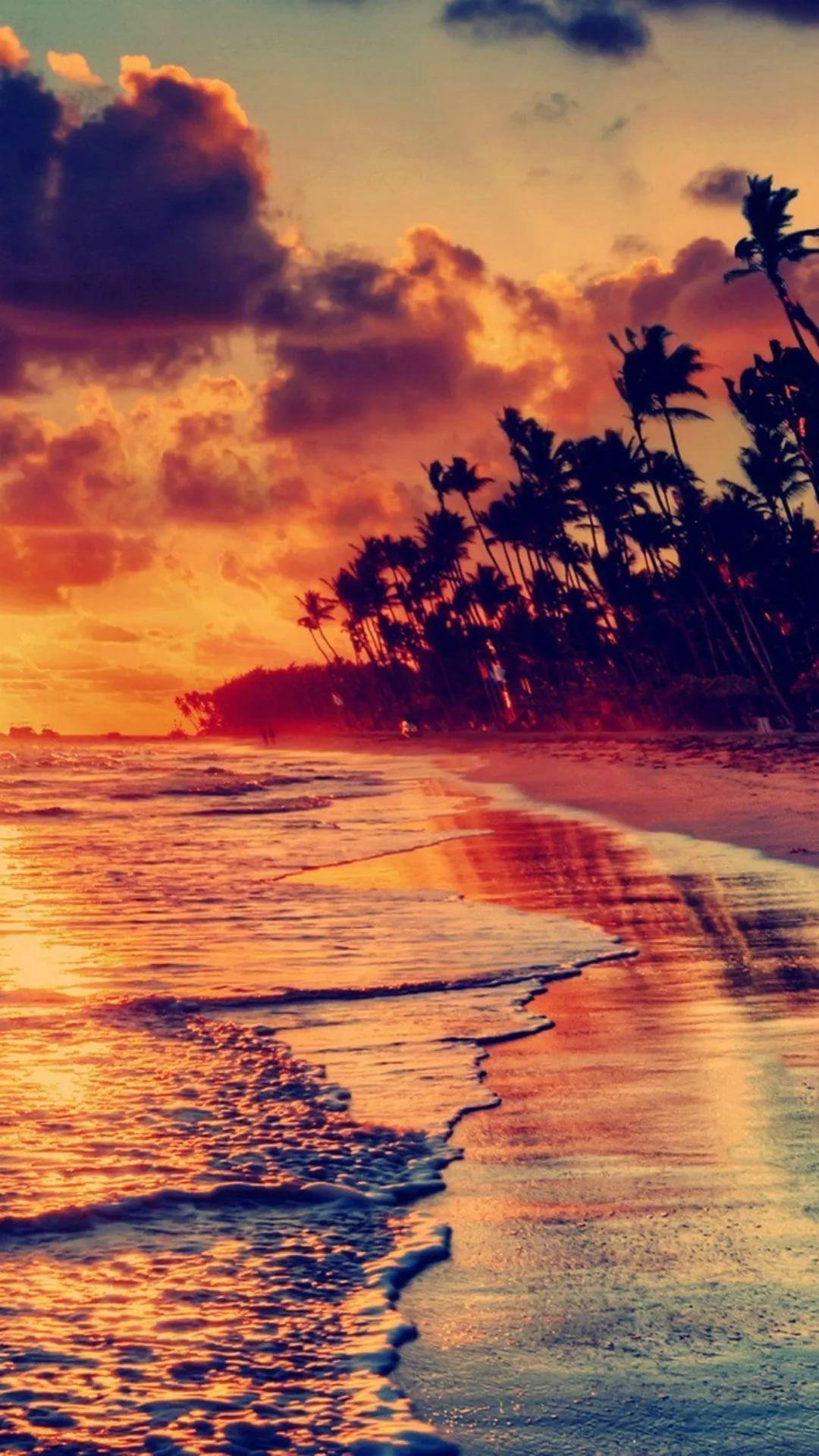 Beautiful Sunset screen saver wallpaper