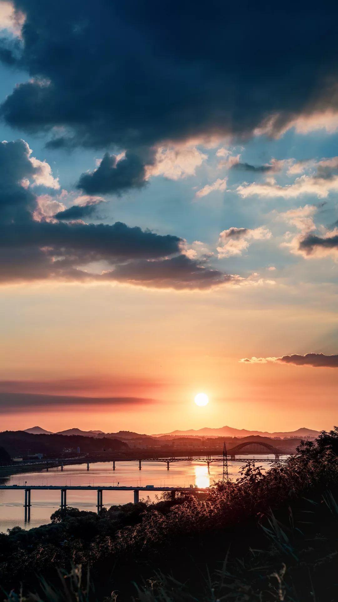 Beautiful Sunset Apple wallpaper