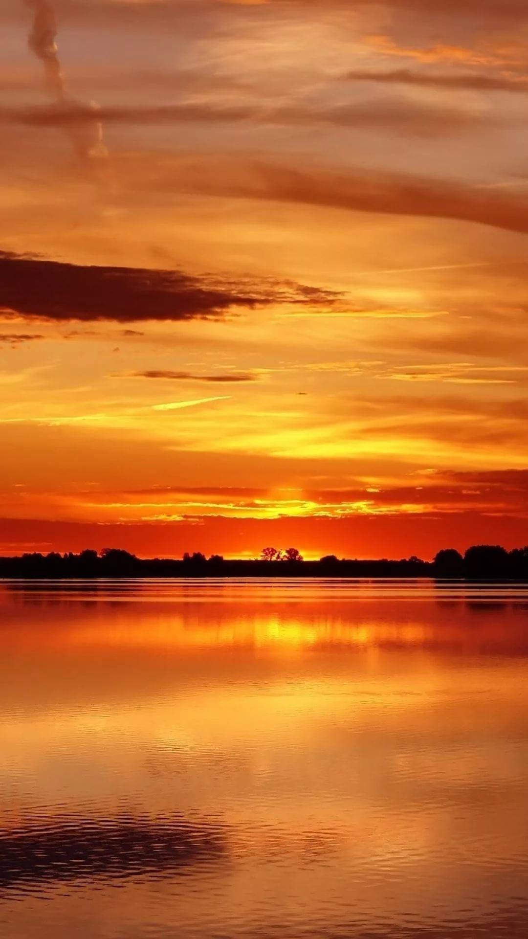 Beautiful Sunset wallpaper iPhone