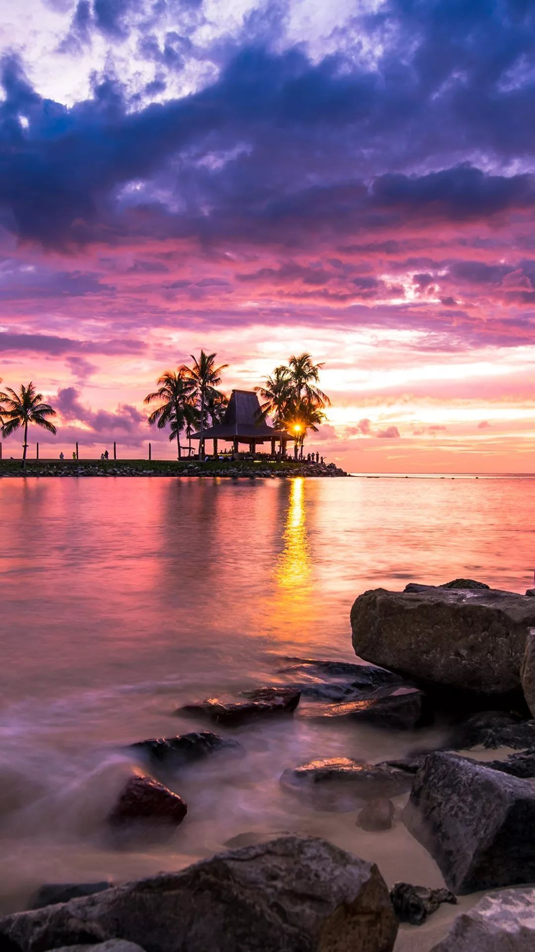 Beautiful Sunset HD wallpaper for mobile