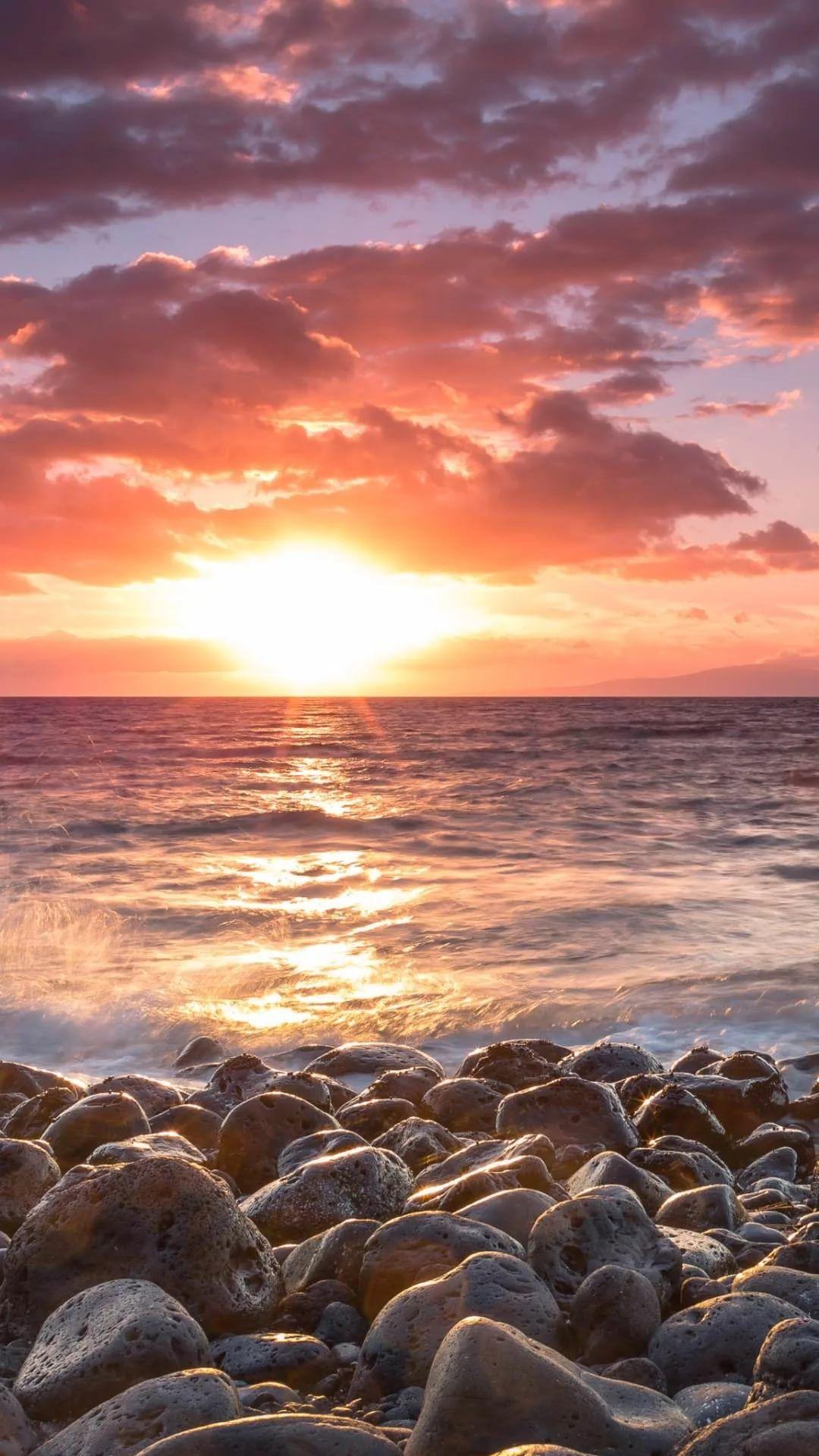 Beautiful Sunset iPhone xs max wallpaper
