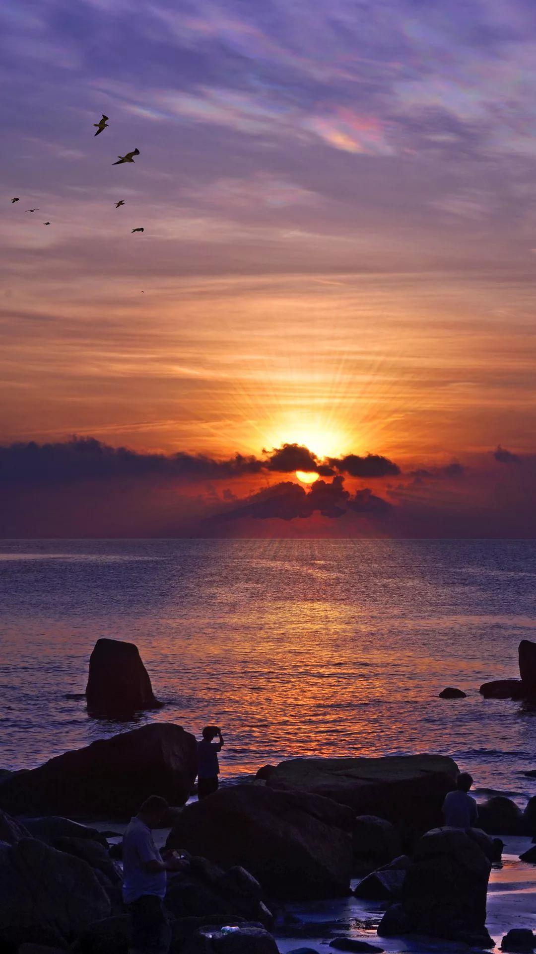 Beautiful Sunset Cool iPhone Wallpaper