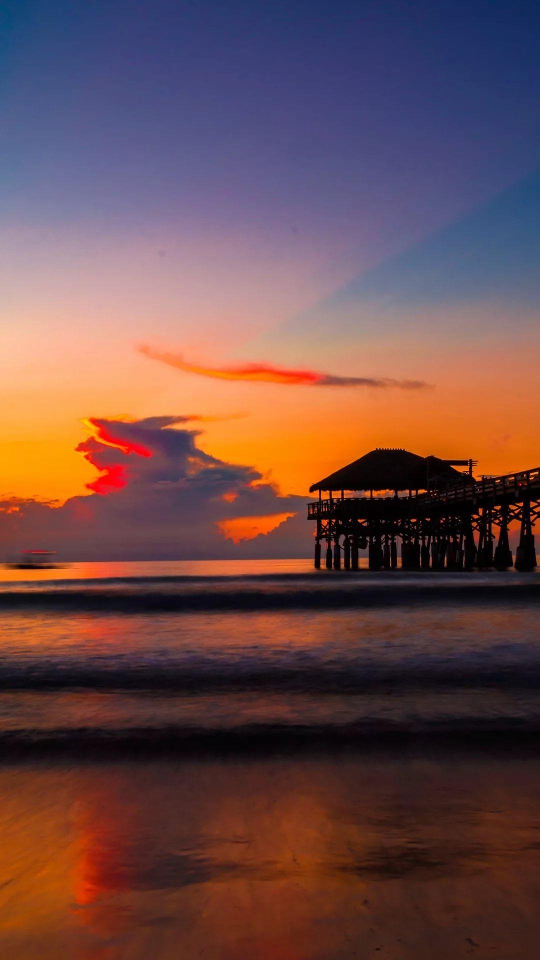 Beautiful Sunset iPhone 7 plus wallpaper hd