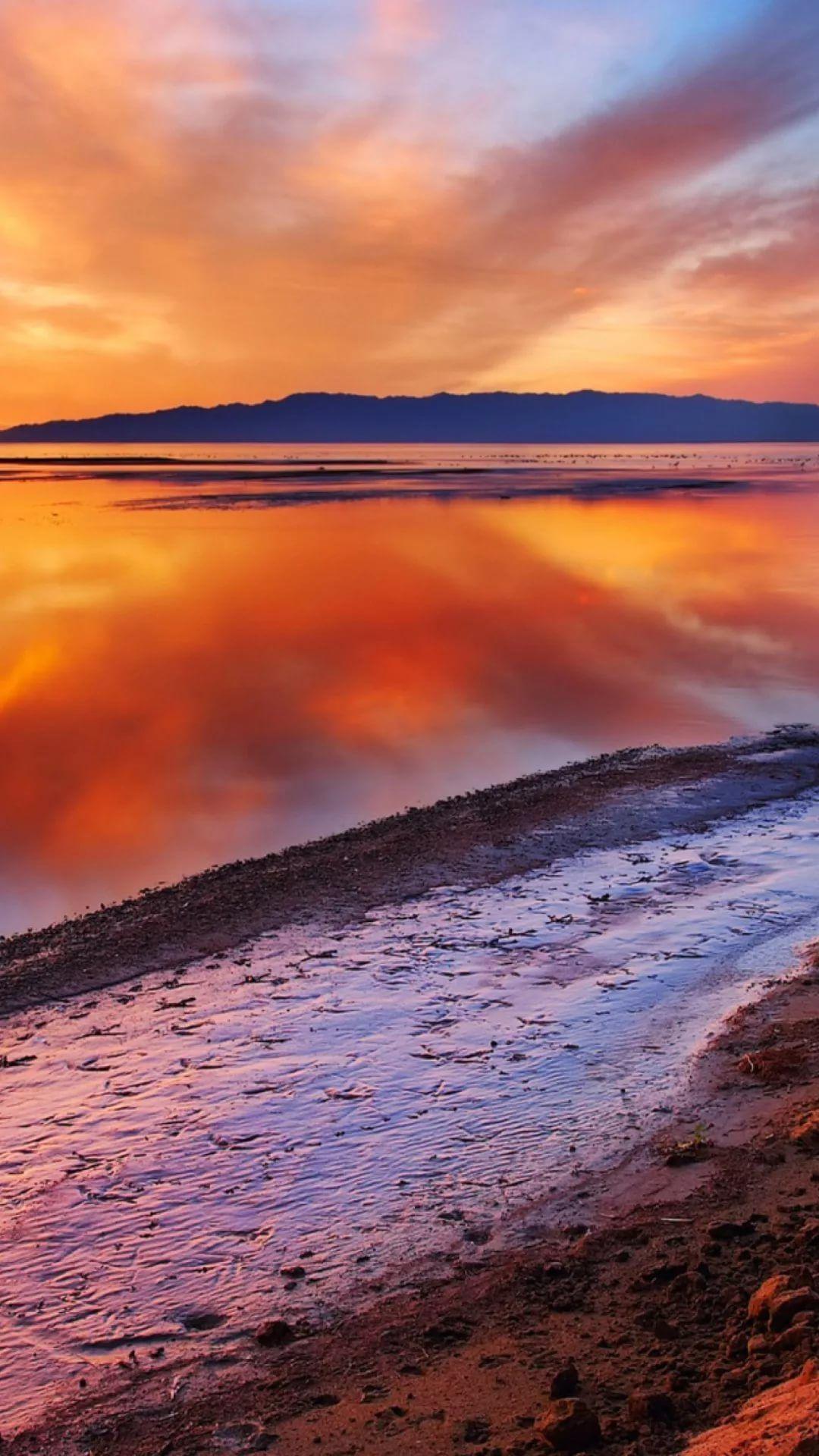 Beautiful Sunset Apple iPhone wallpaper