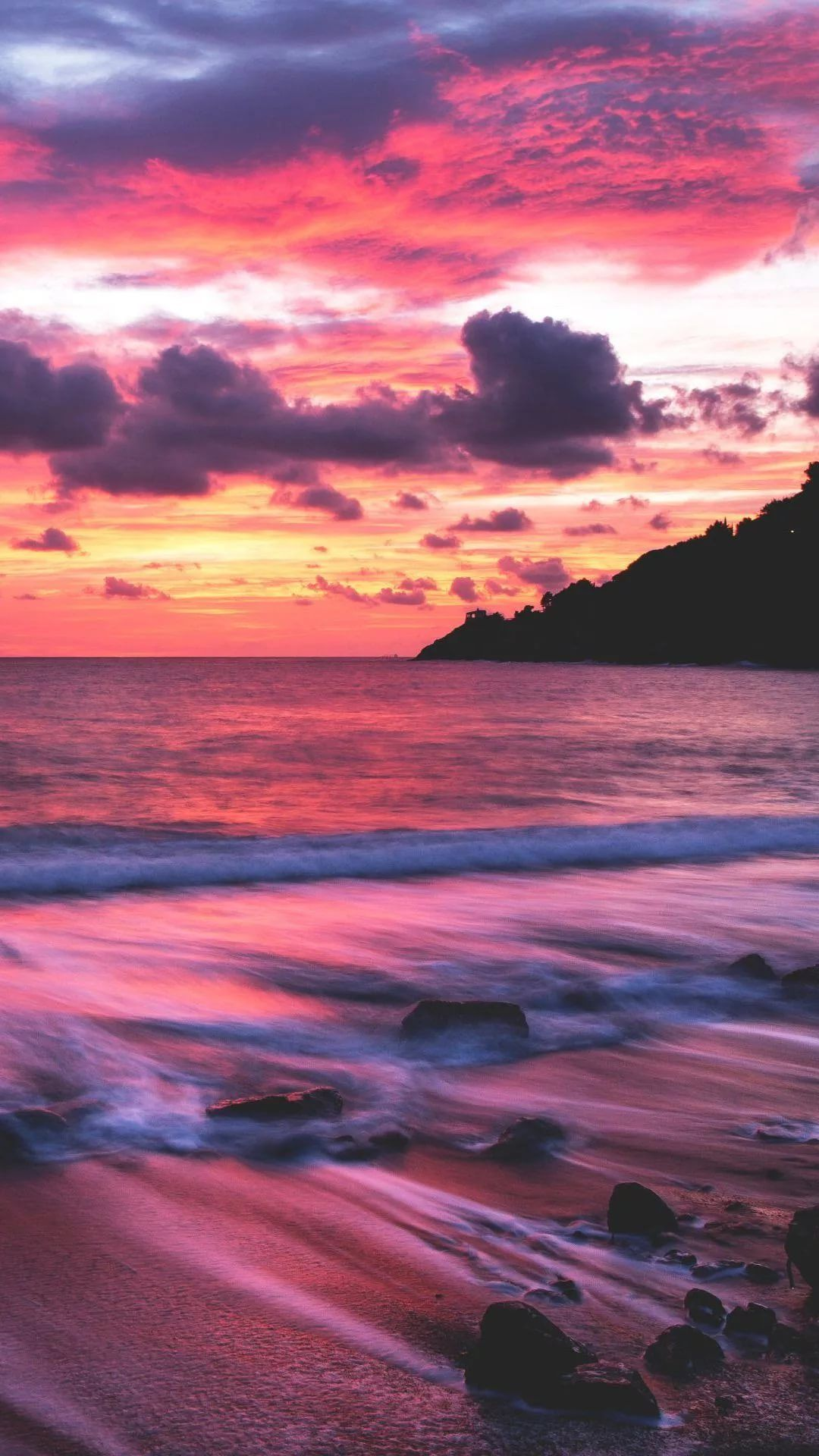 Beautiful Sunset iPhone 6 plus wallpaper