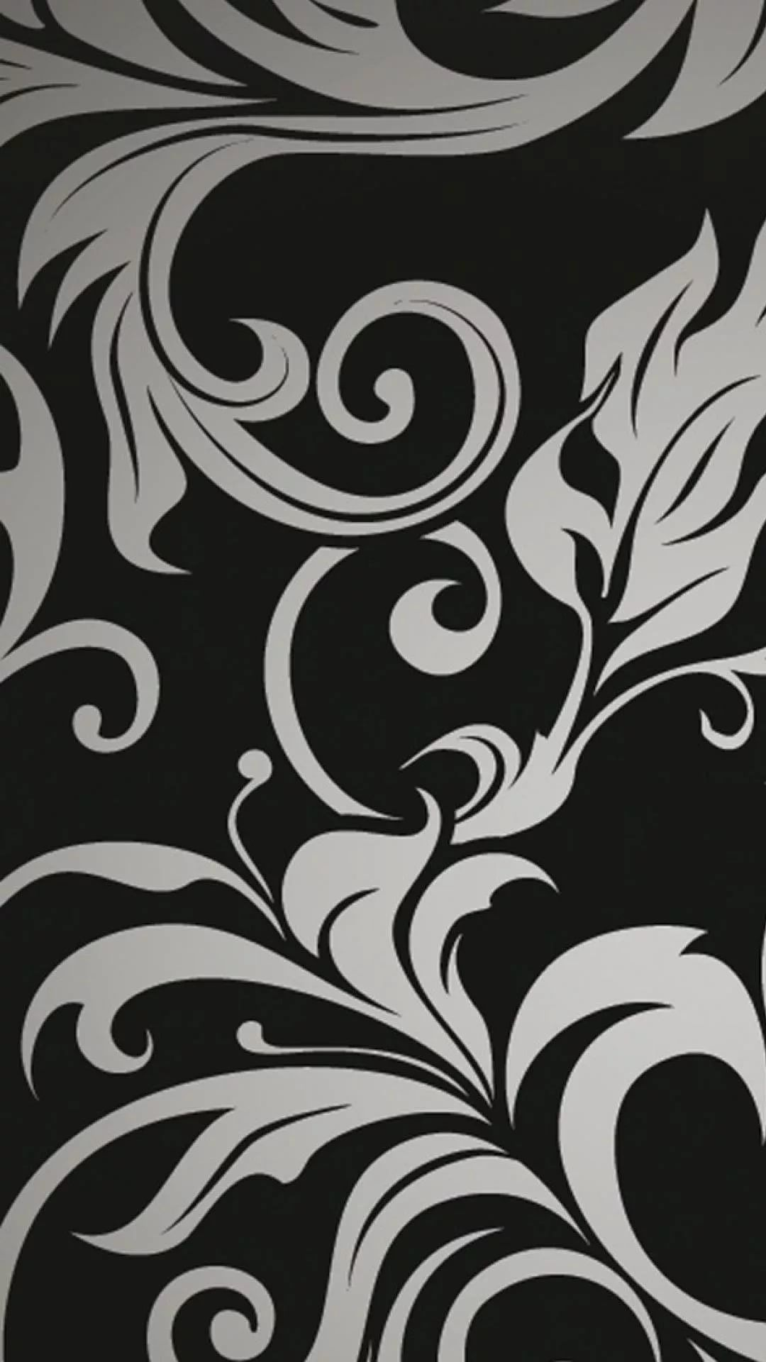Black And White Flower Samsung Galaxy s8 wallpaper