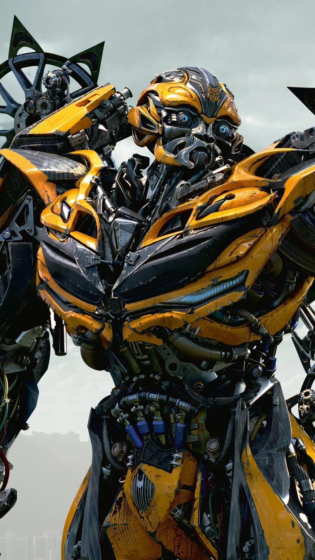 Bumblebee HD wallpaper for mobile