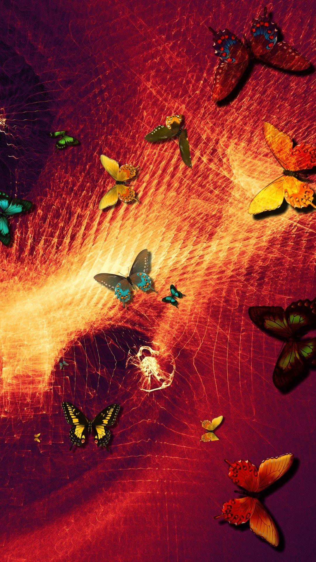Butterfly Galaxy Wallpaper