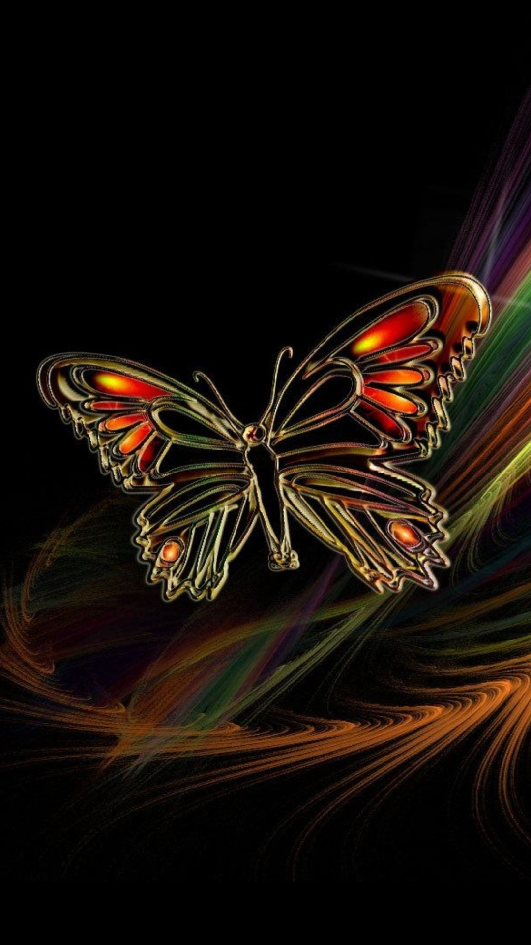 Butterfly Galaxy wallpaper hd
