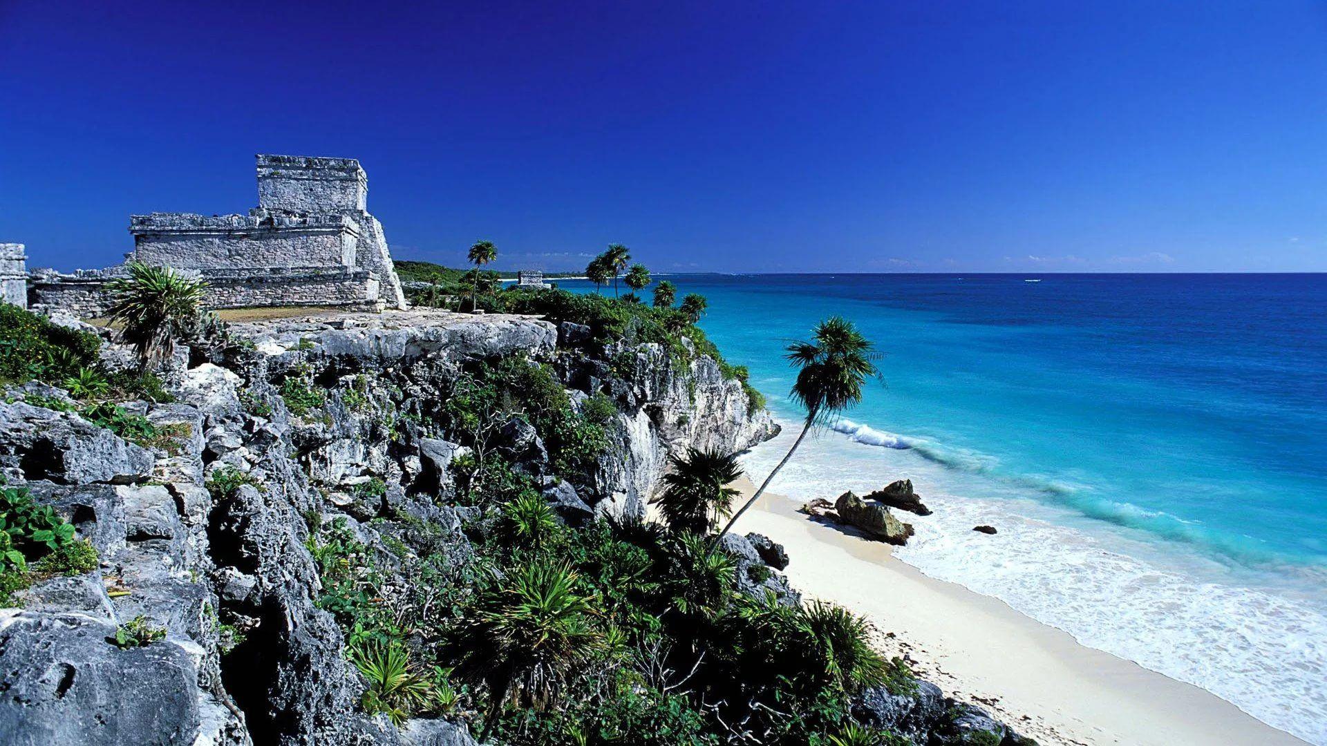 Cancun Mexico laptop wallpaper