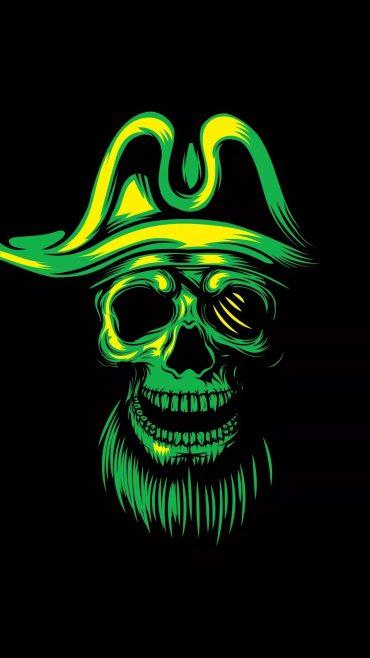 Cool Skull iPhone xs wallpaper download