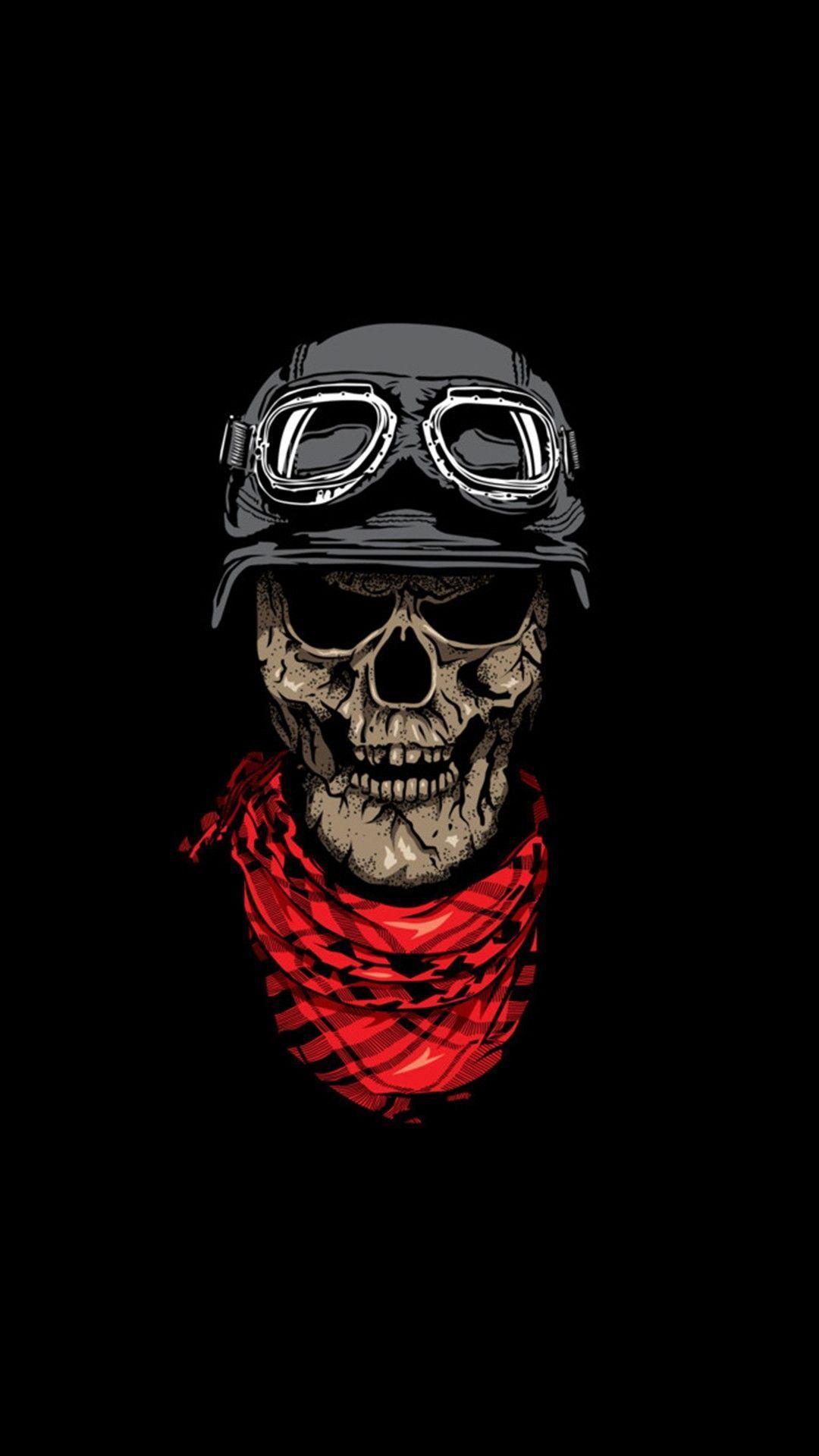 Cool Skull wallpaper iPhone 5