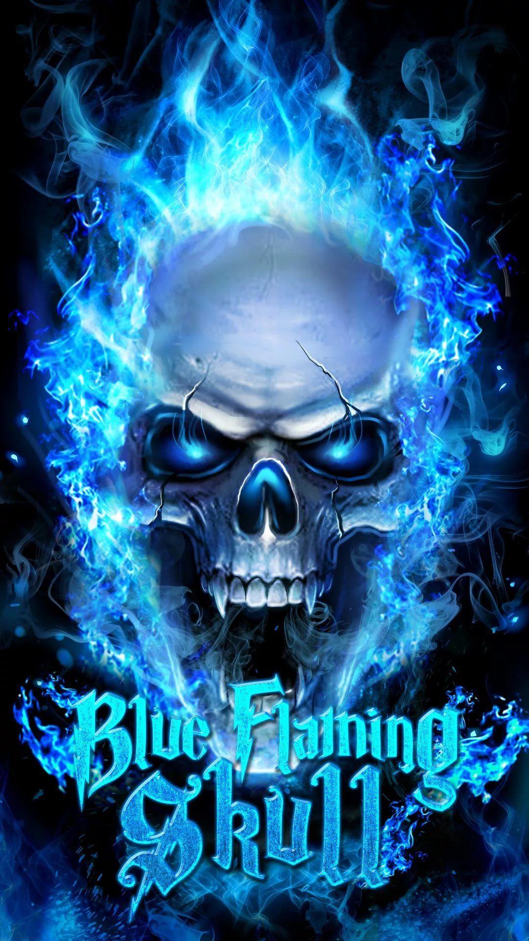 Cool Skull iOS 9 wallpaper