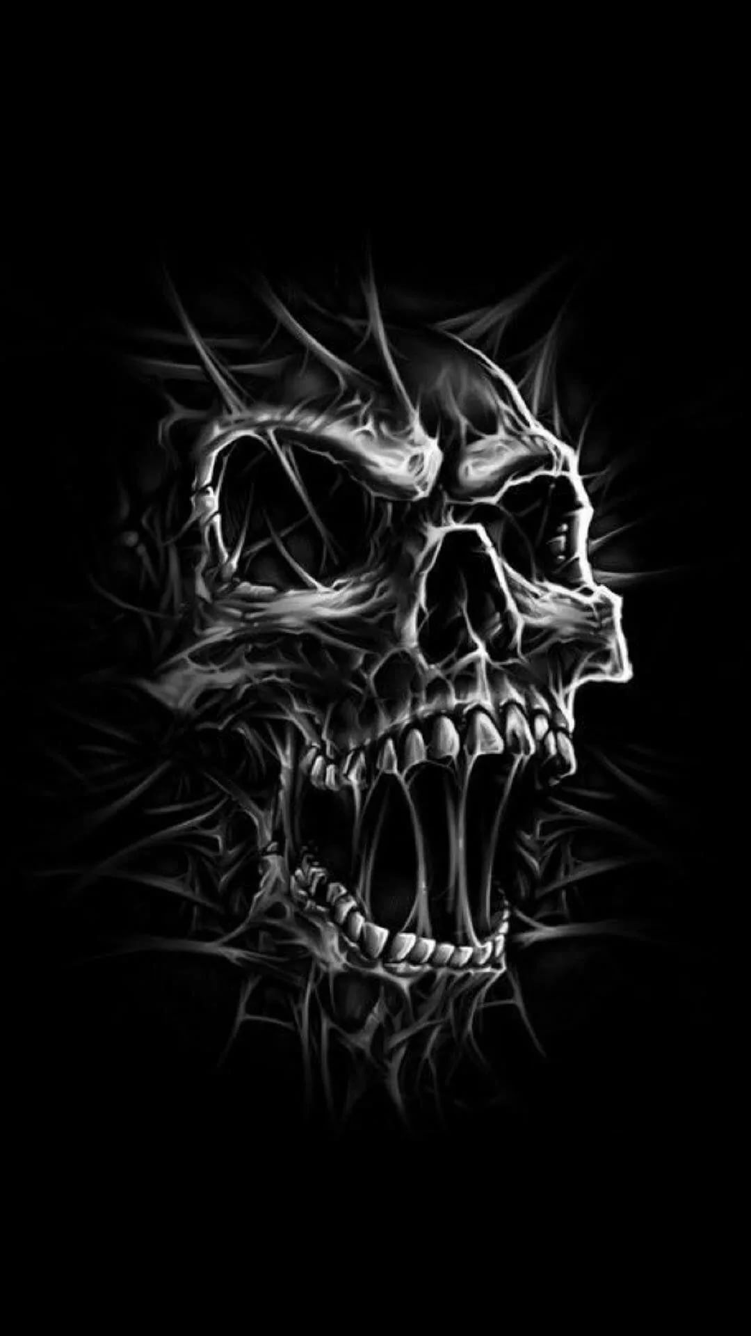 Cool Skull iPhone 6s plus wallpaper