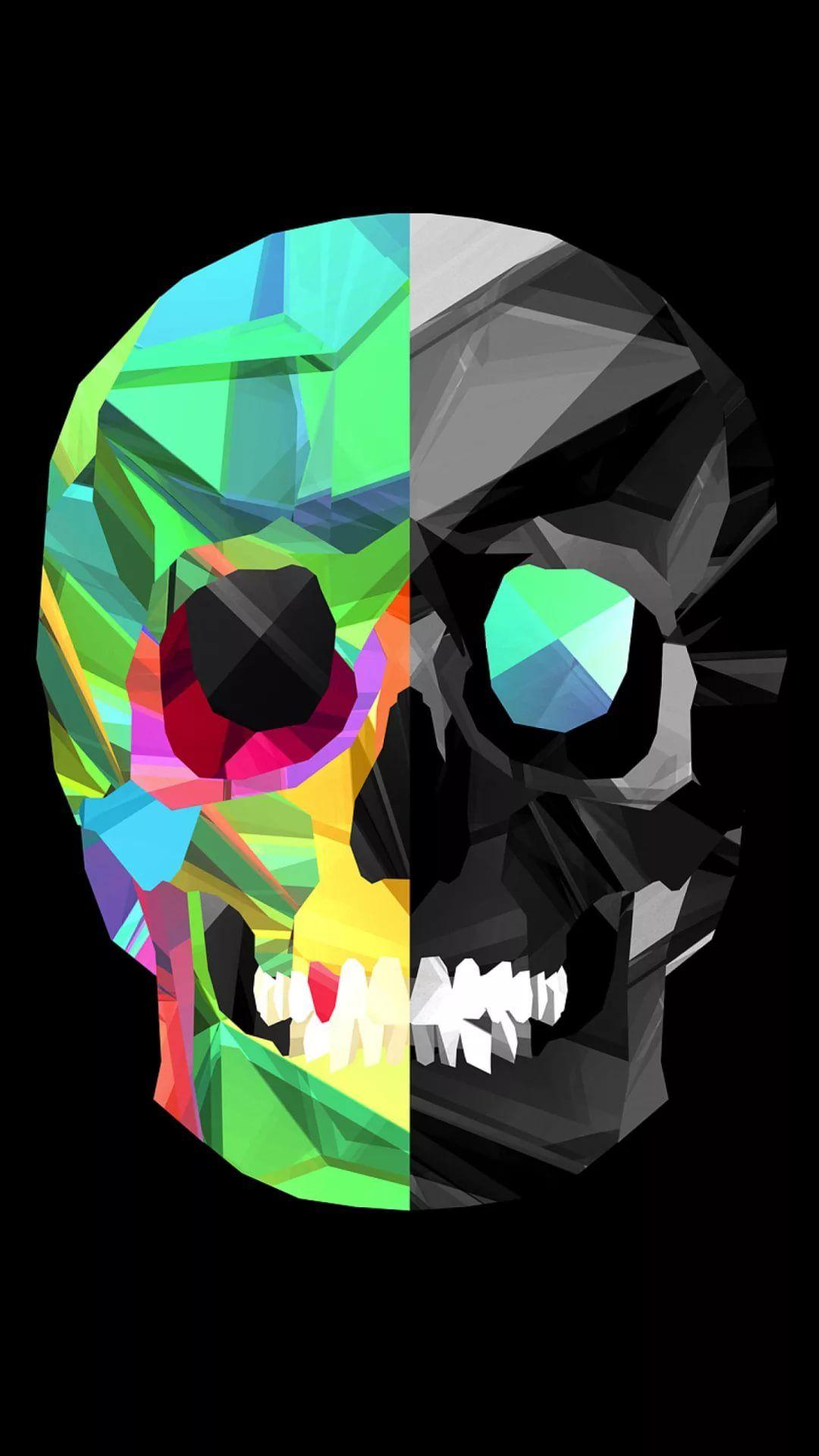 Cool Skull cool phone wallpaper