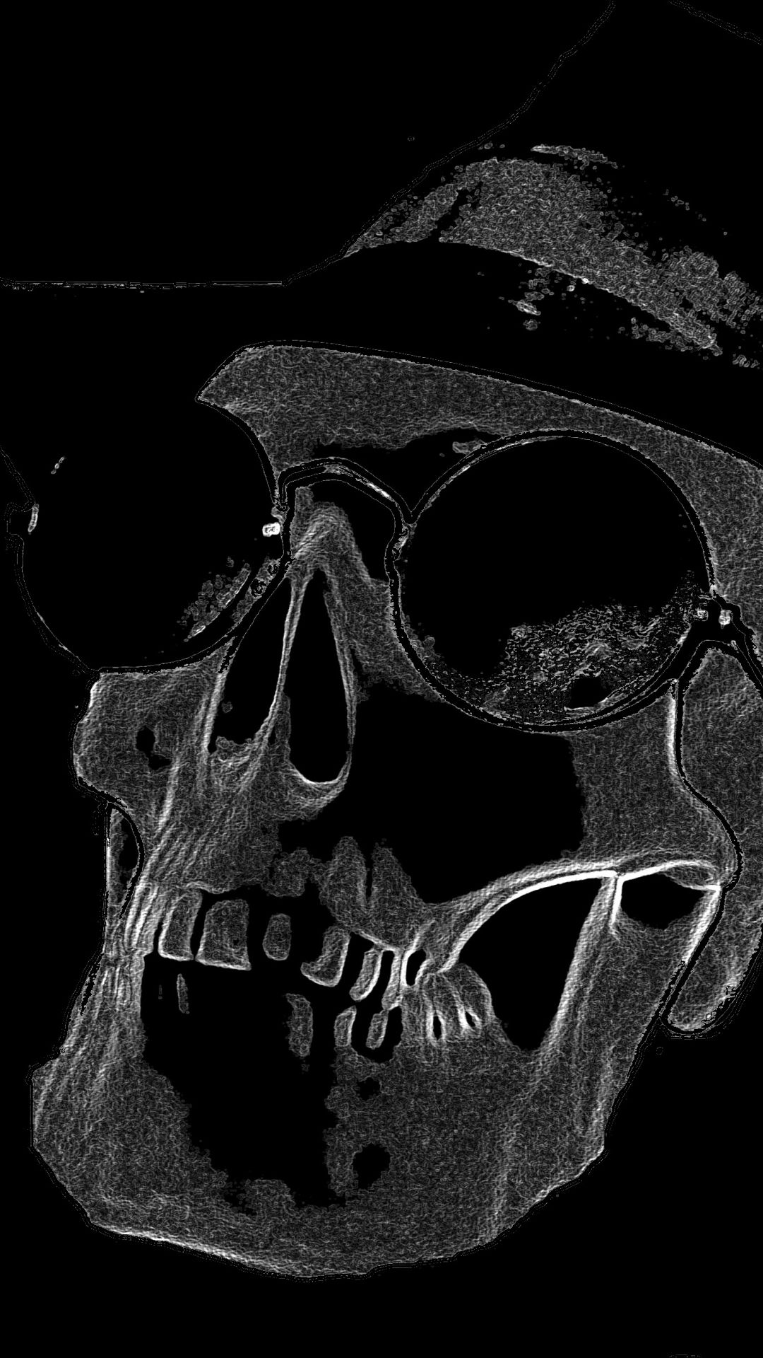 Cool Skull iPhone wallpaper high quality