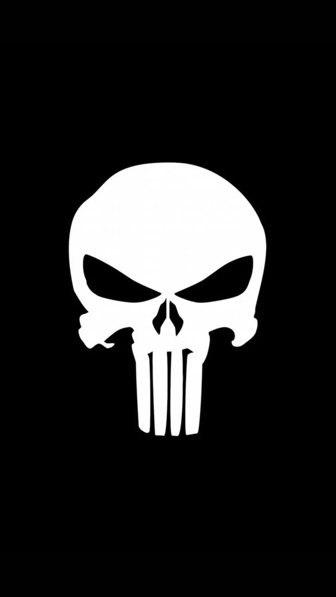 Cool Skull iPhone se wallpaper