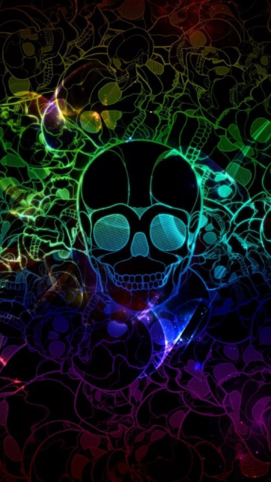 Cool Skull Galaxy Wallpaper