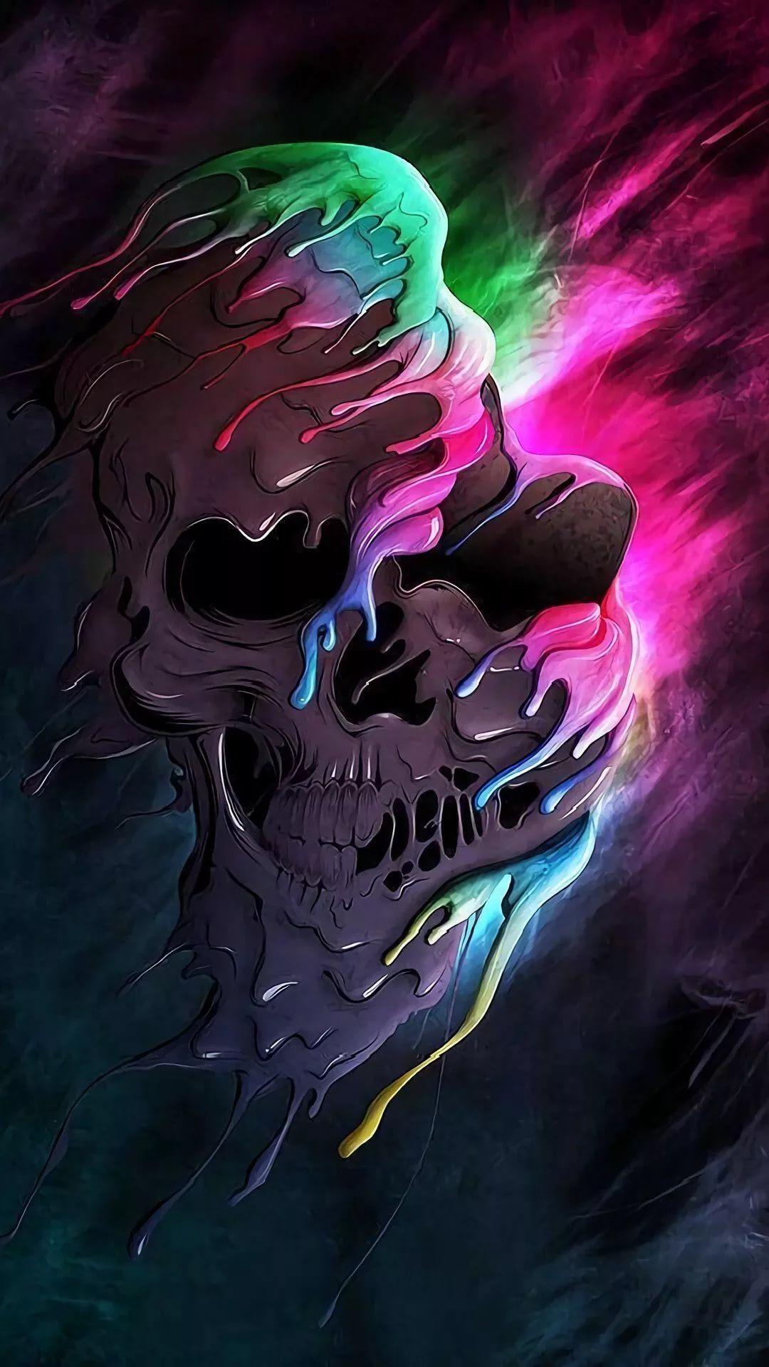 Cool Skull HD wallpaper for mobile