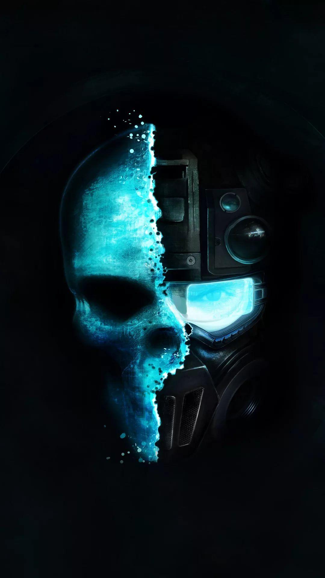 Cool Skull phone wallpaper hd