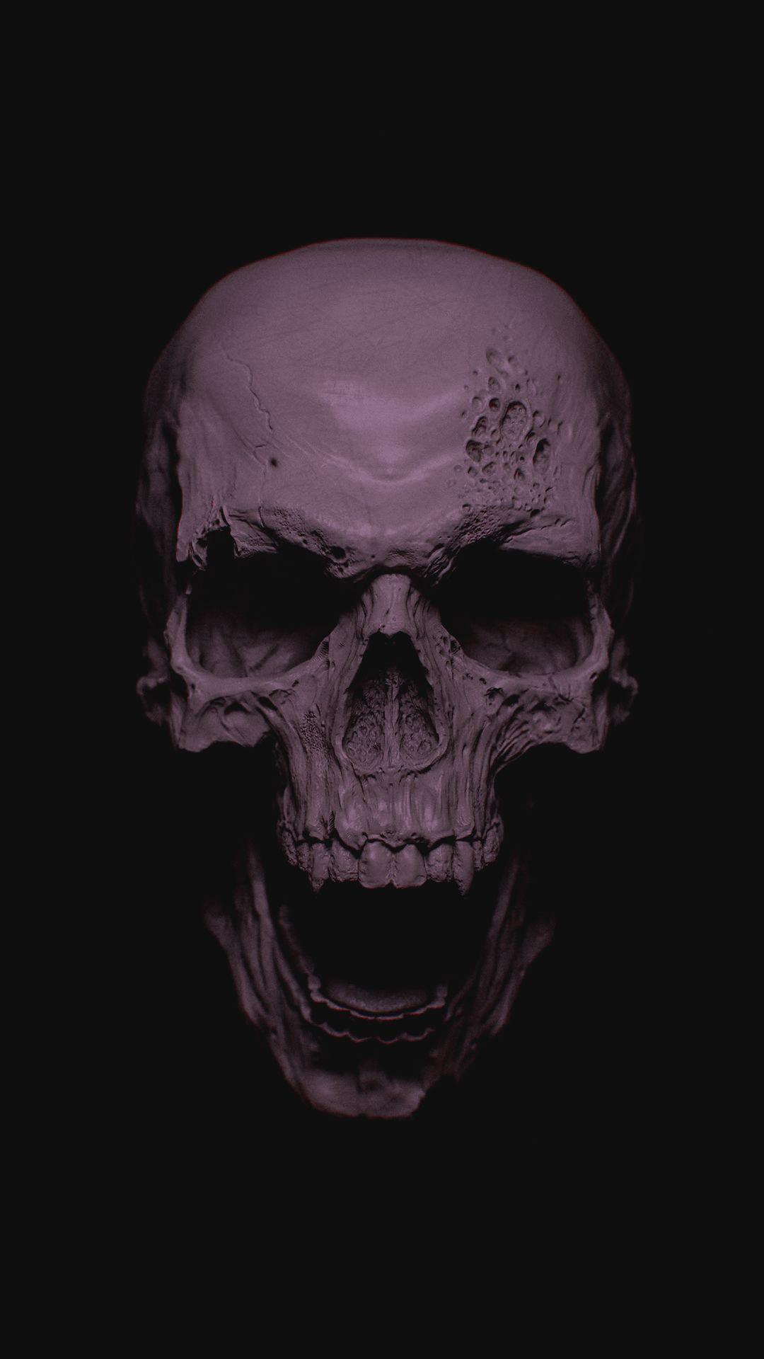 Cool Skull iOS 7 wallpaper