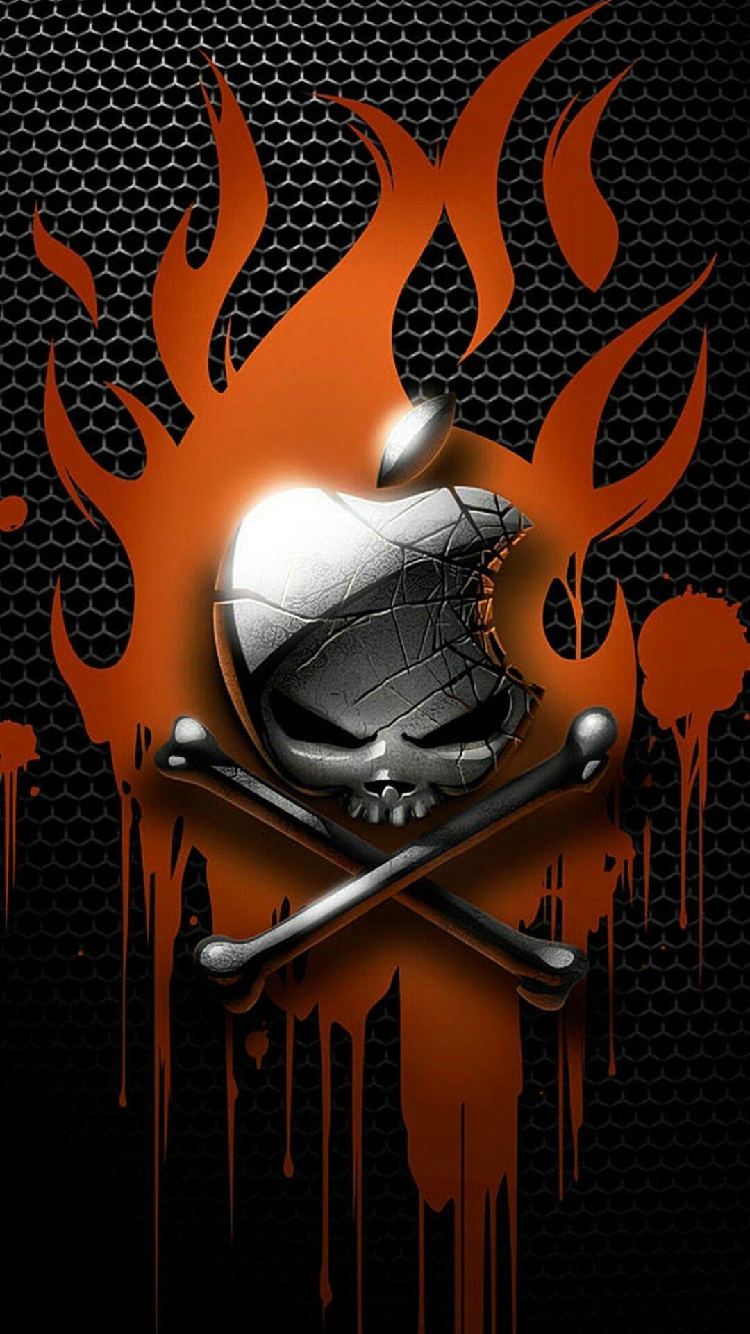 Cool Skull iPhone 8 wallpaper