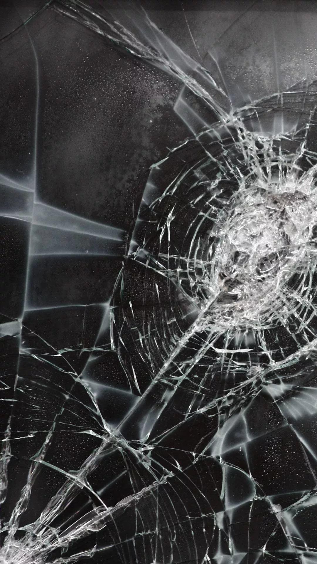 Cracked Phone iPhone se wallpaper