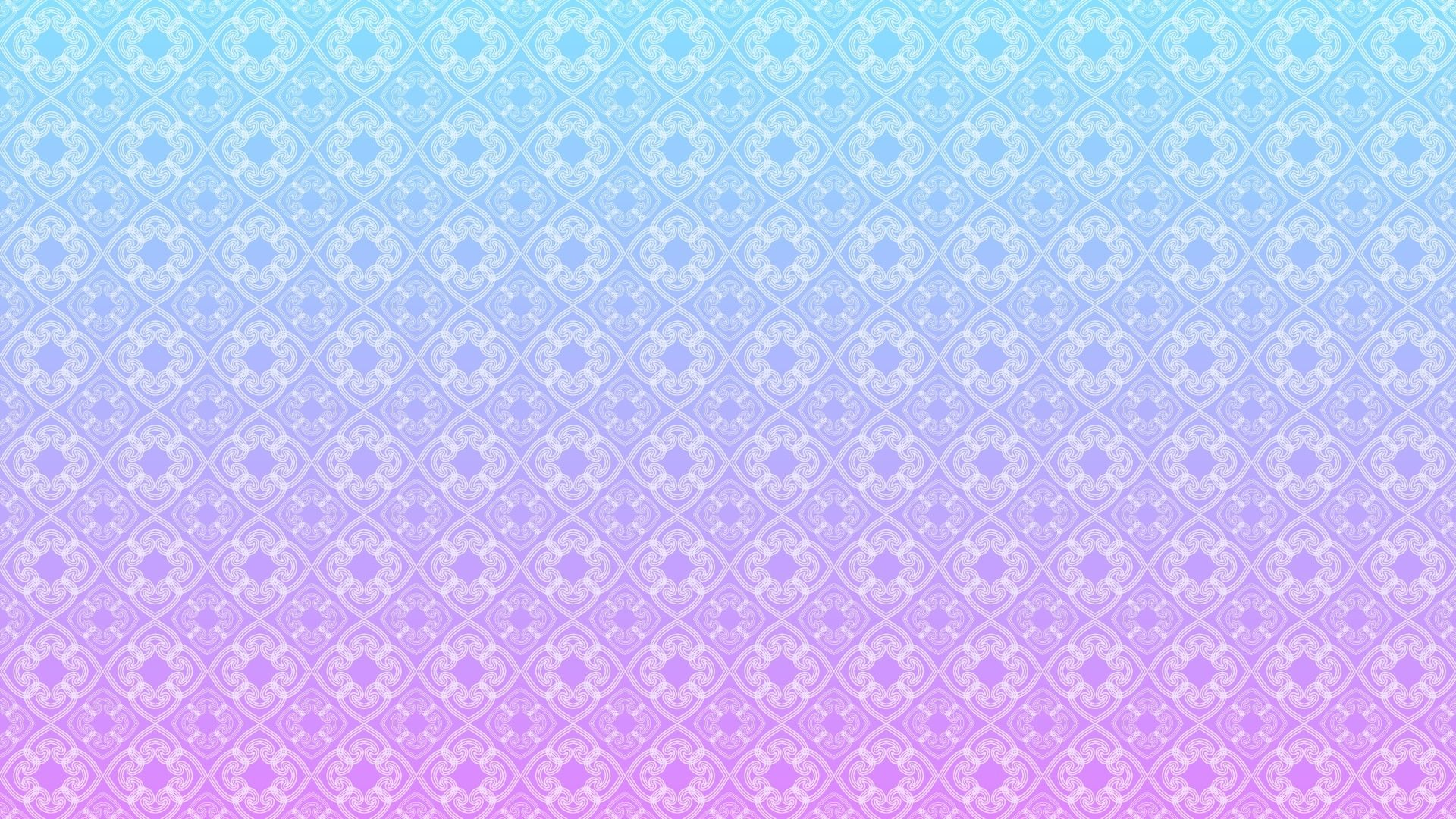 Cute Blue Pattern Free Desktop Wallpaper