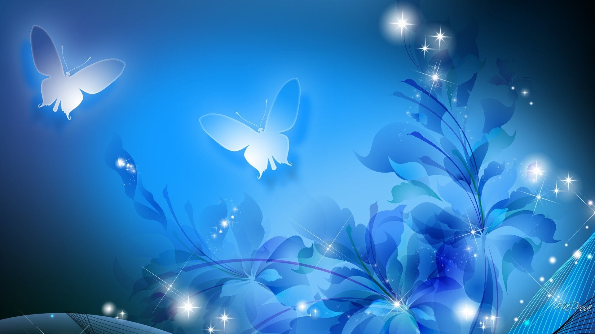 Cute Blue wallpaper and themes