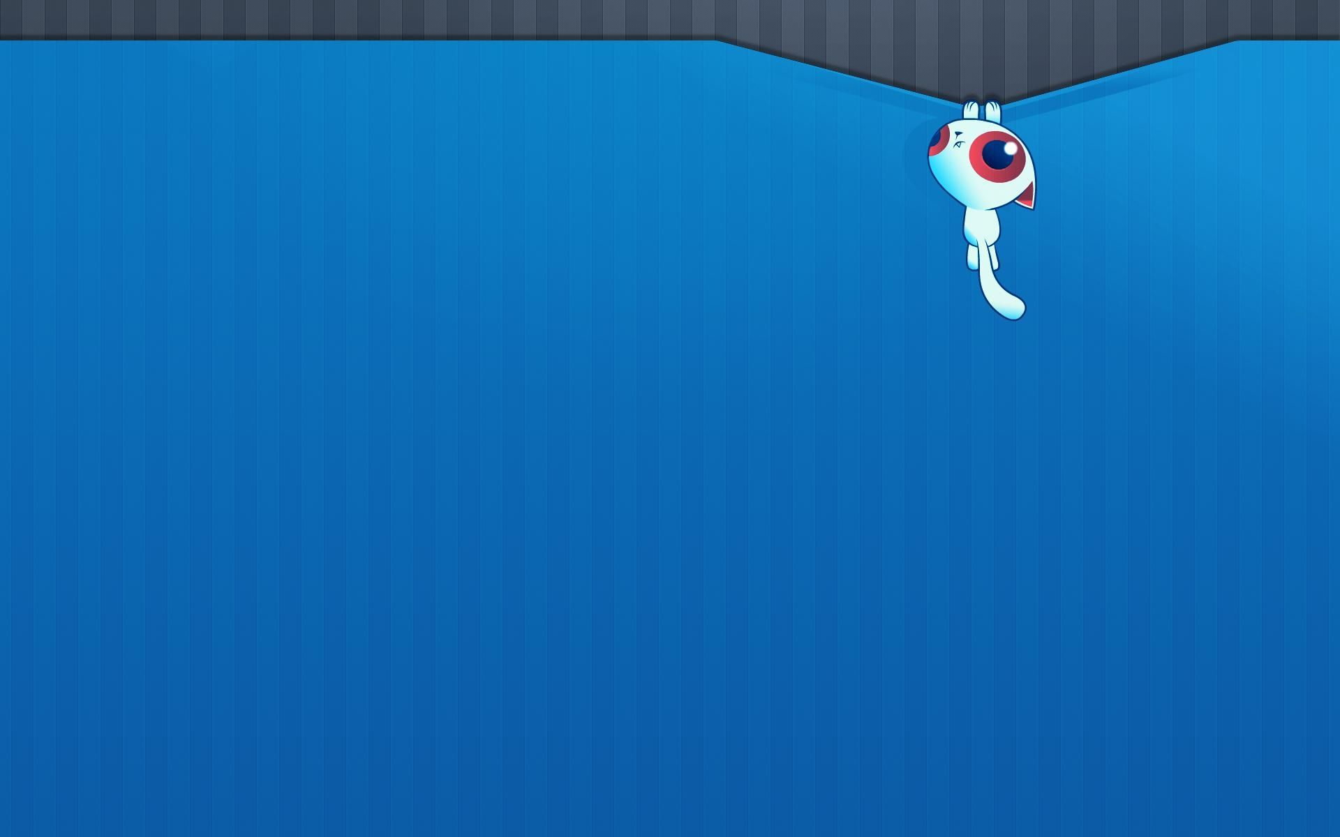 Cute Blue cat hd wallpaper for laptop