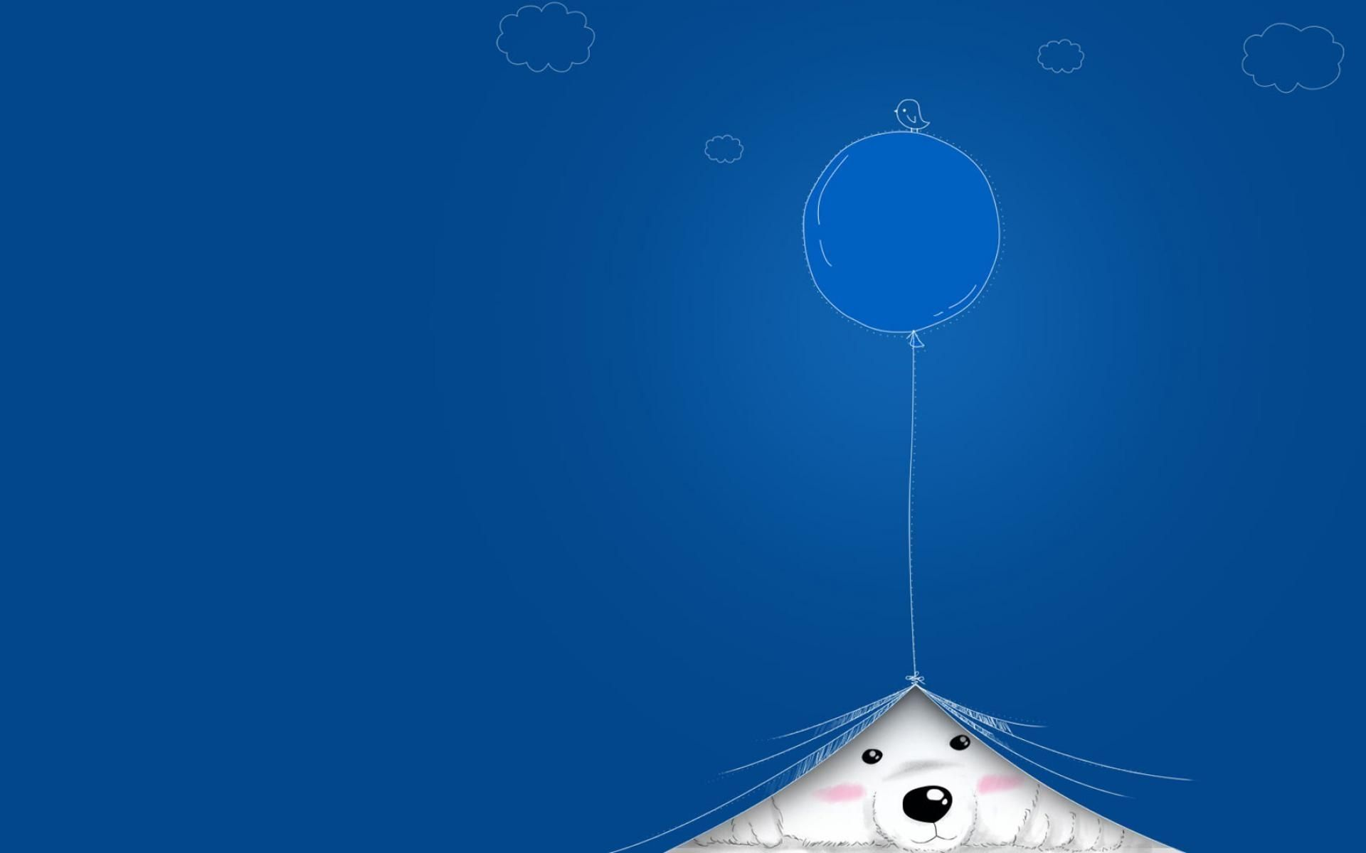Cute Blue Wallpaper and Background