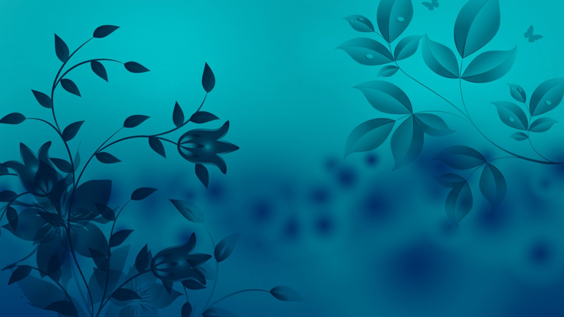 Cute Blue Free Download Wallpaper