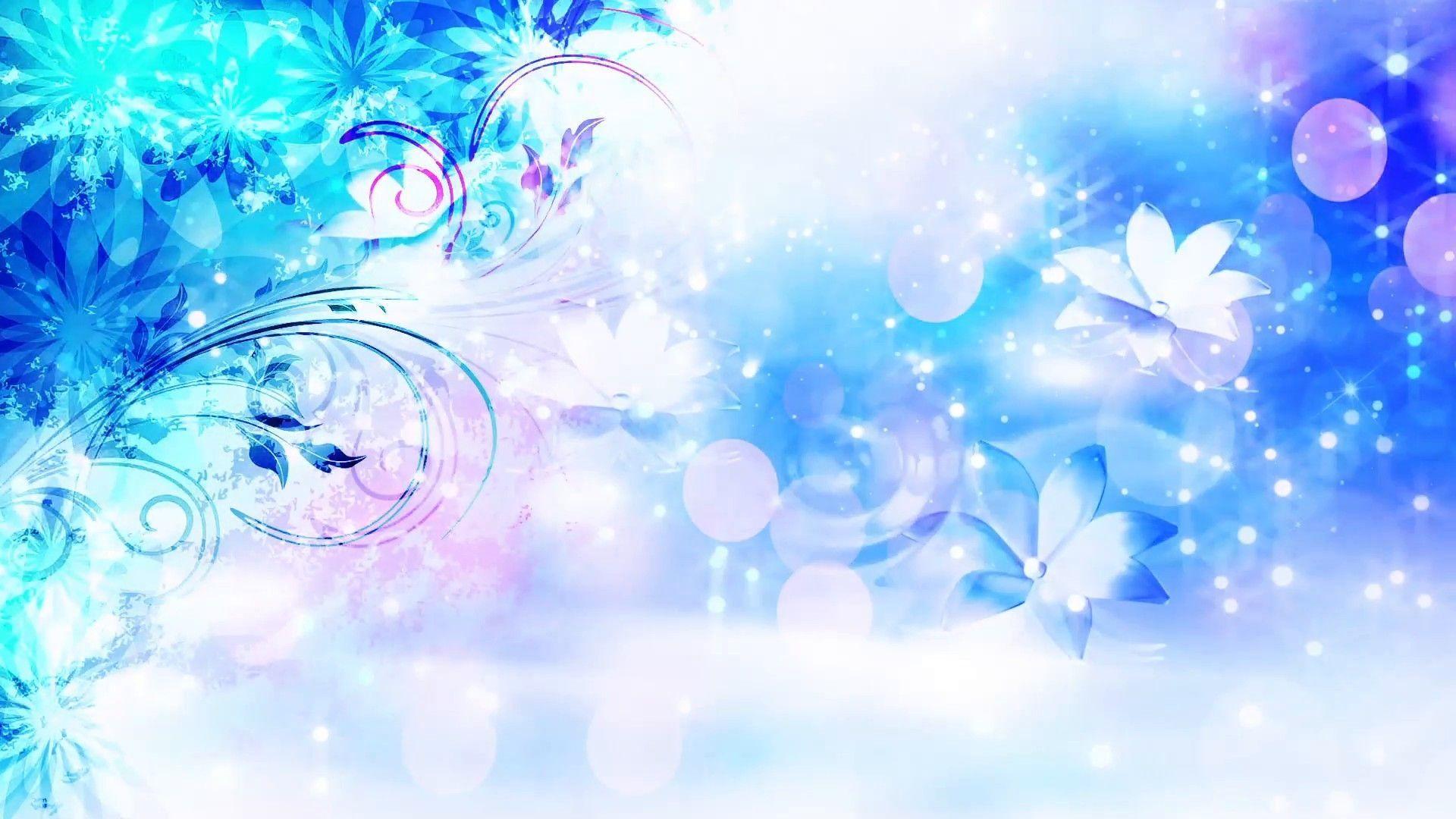Cute Blue full hd wallpaper for laptop