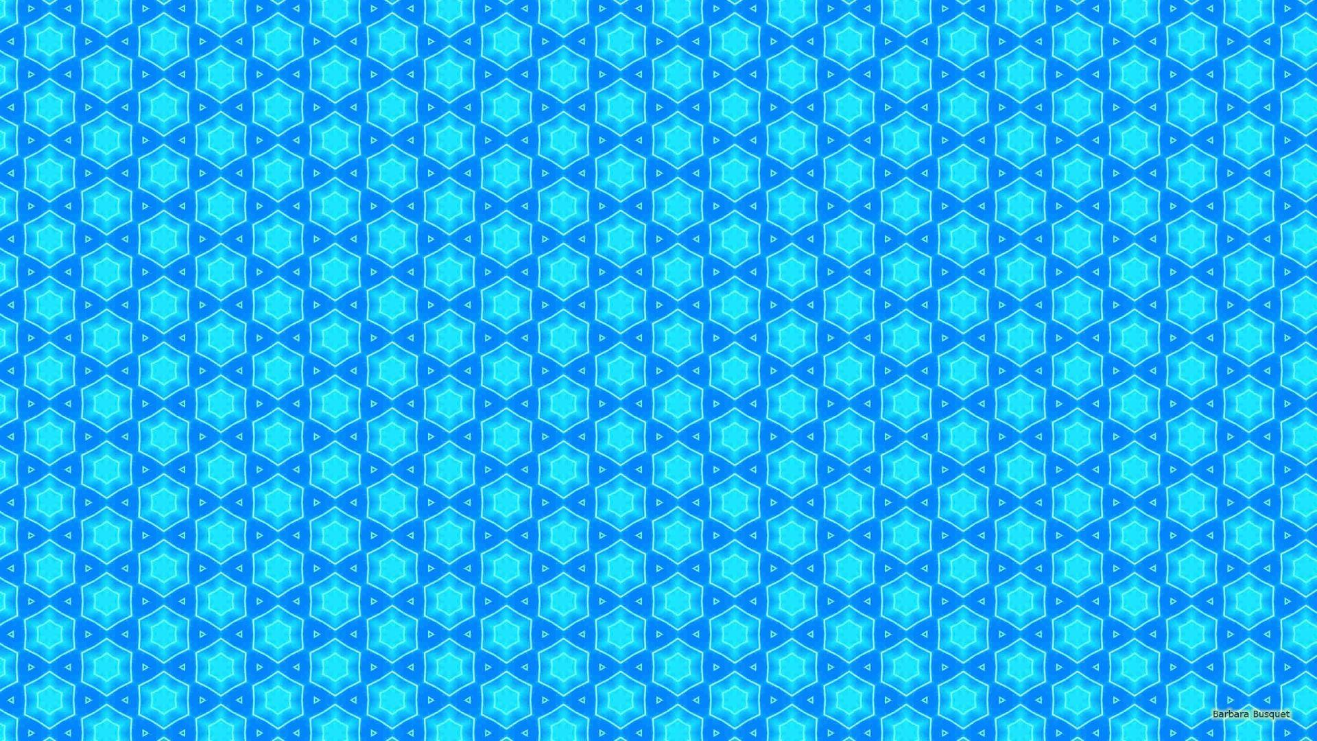 Cute Blue Pattern wallpaper download