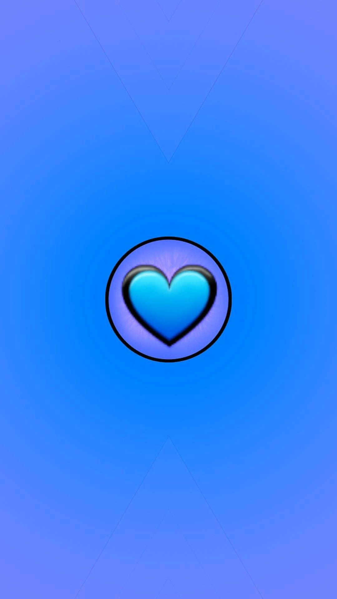 Cute Blue iPhone x wallpaper