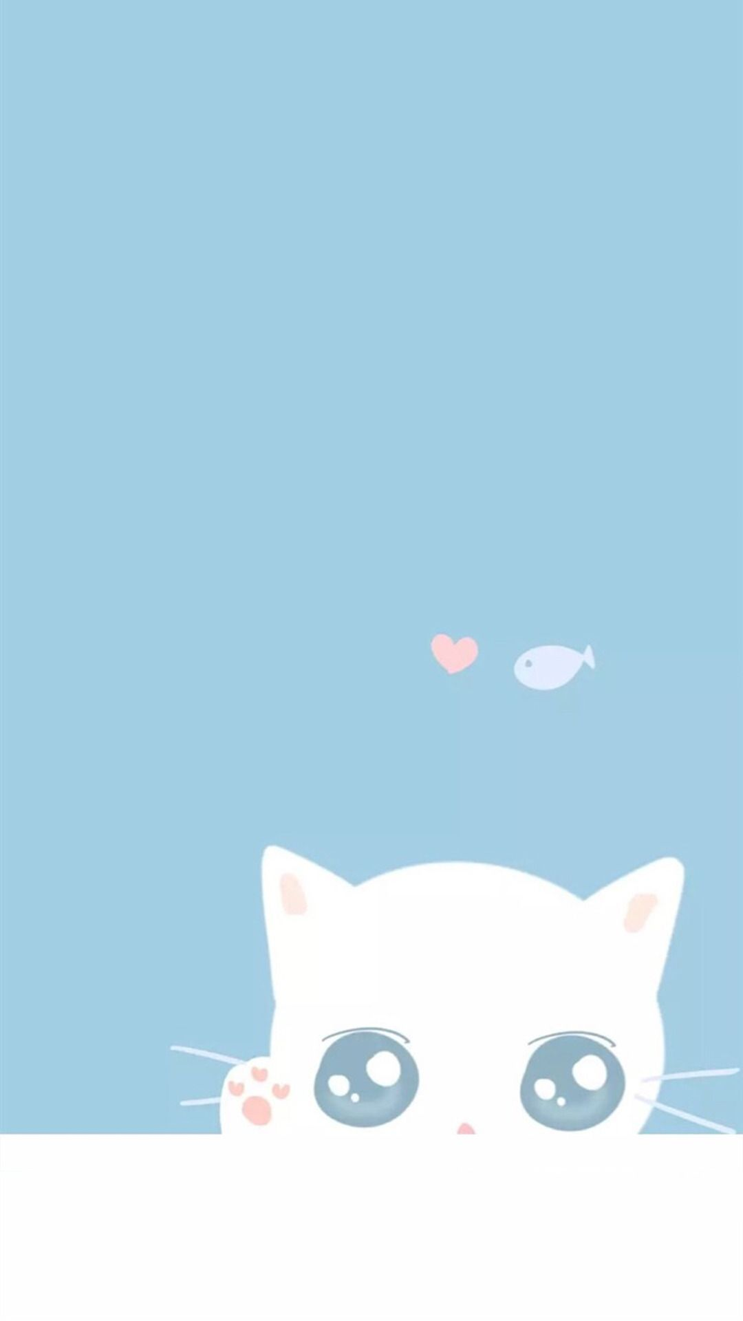 Cute Blue screen saver wallpaper
