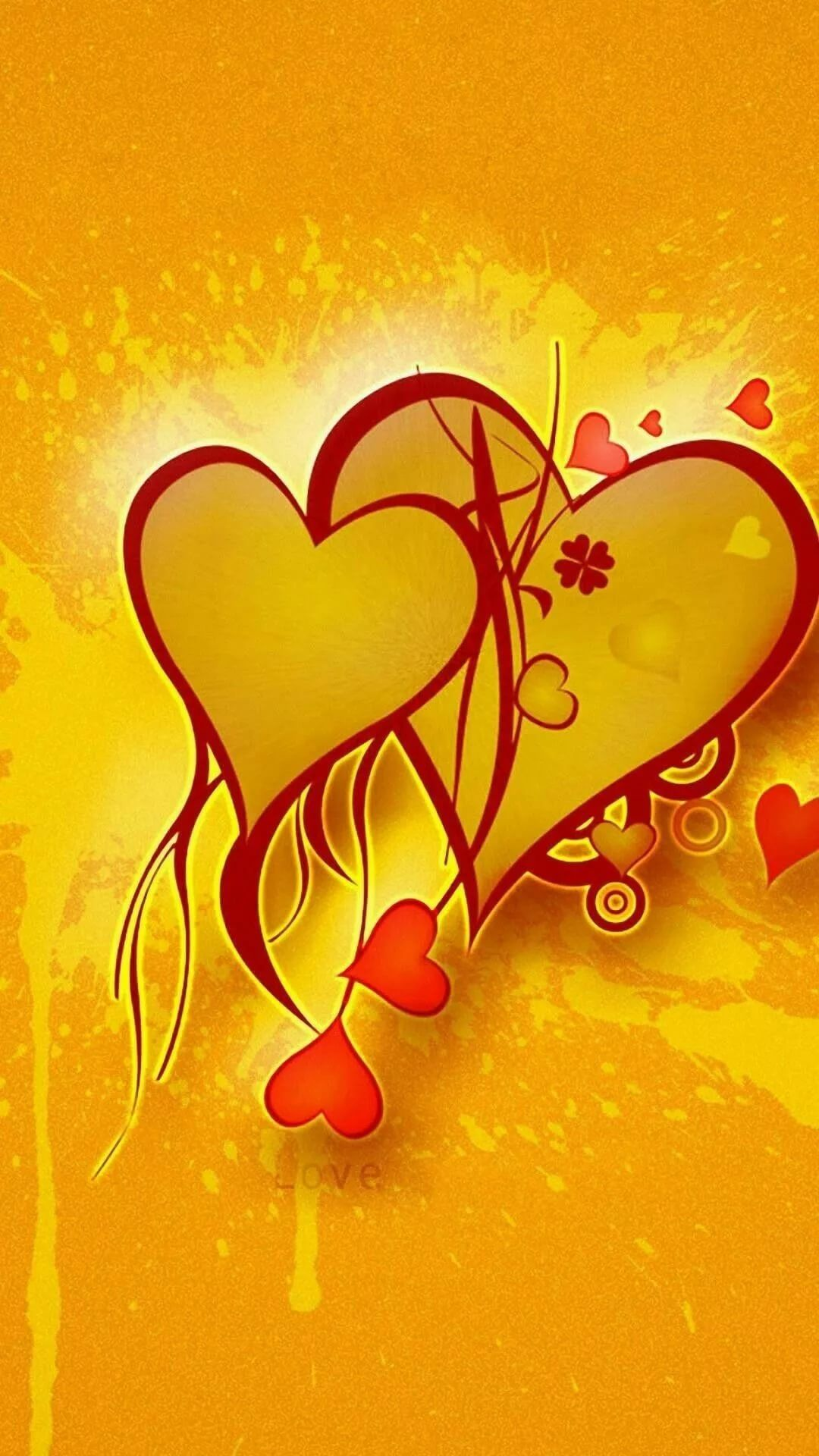 Cute Love background wallpaper