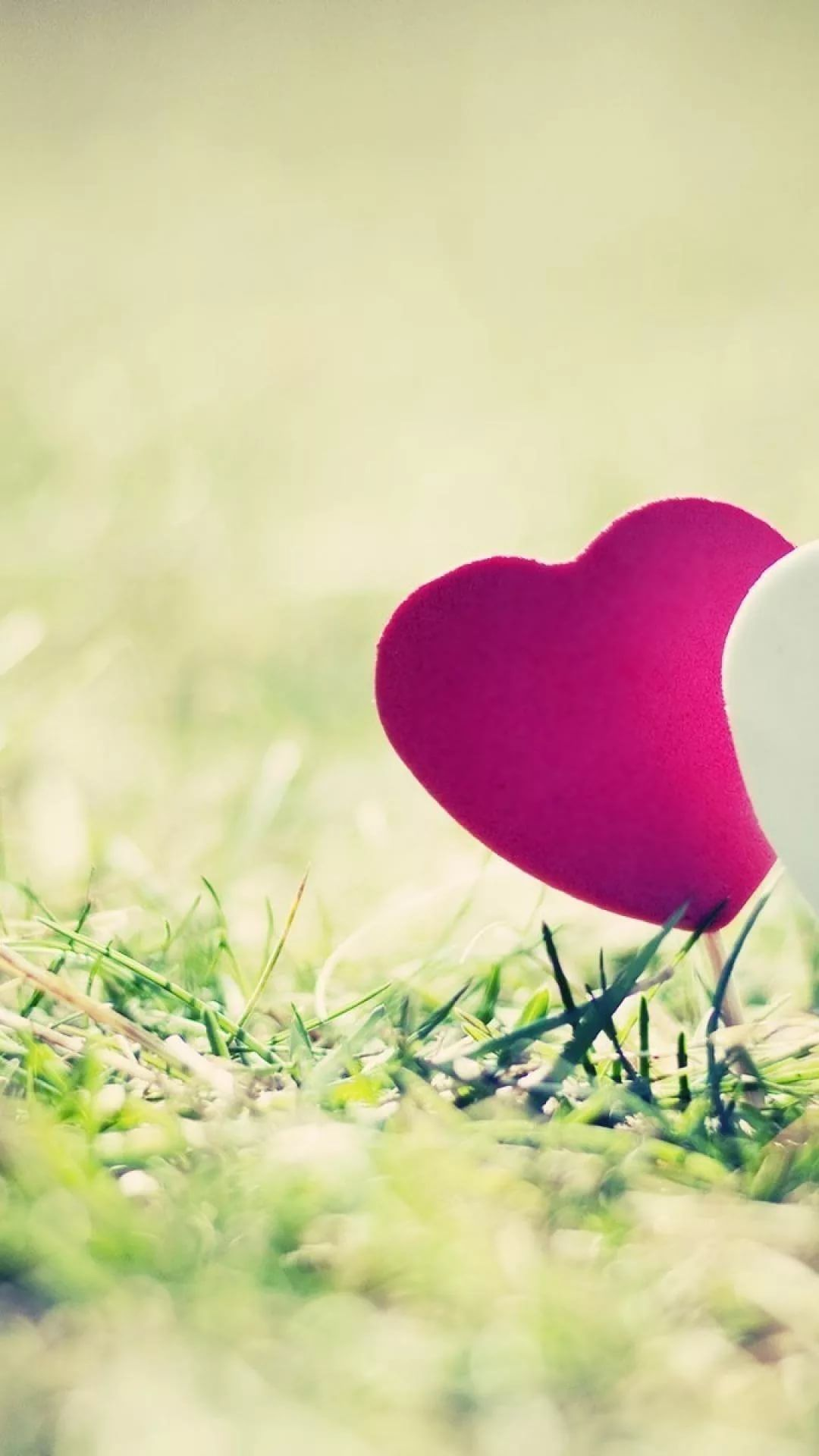 Cute Love iOS wallpaper
