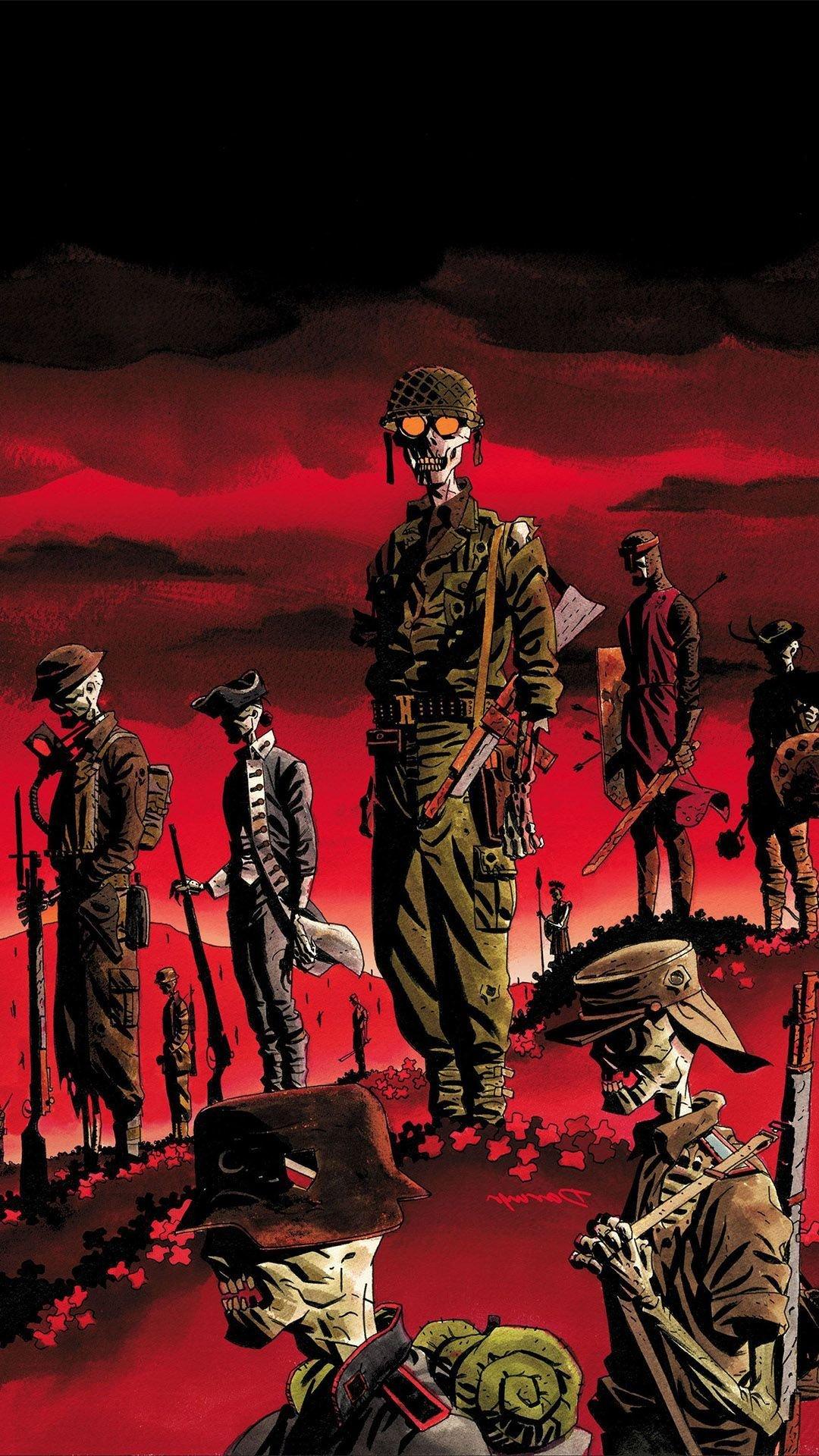 Dead Soldier Art, Red