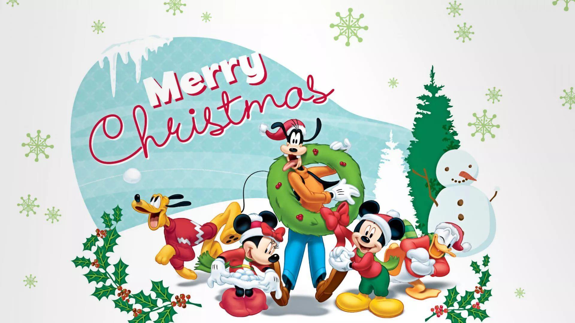 Disney Christmas Cool Wallpaper