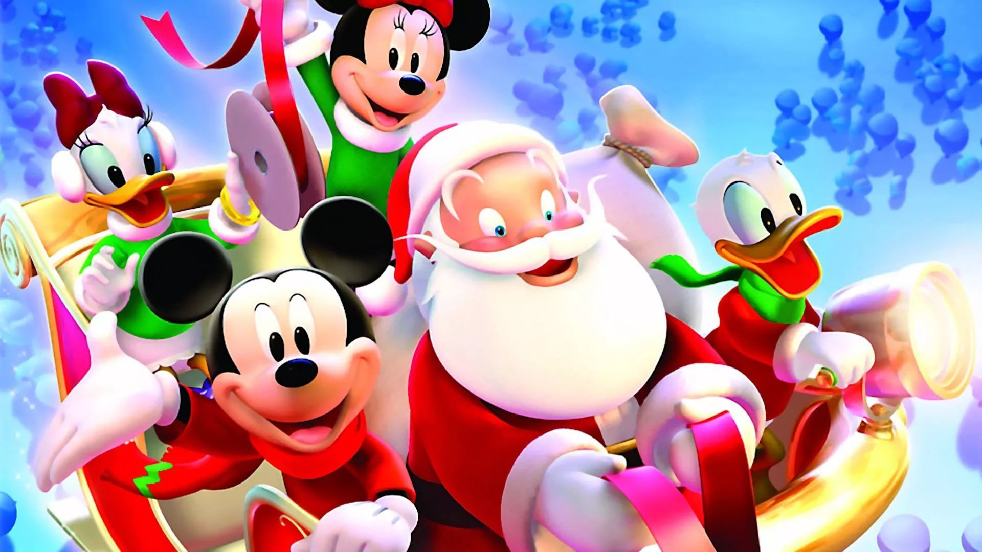 Disney Christmas desktop wallpaper download