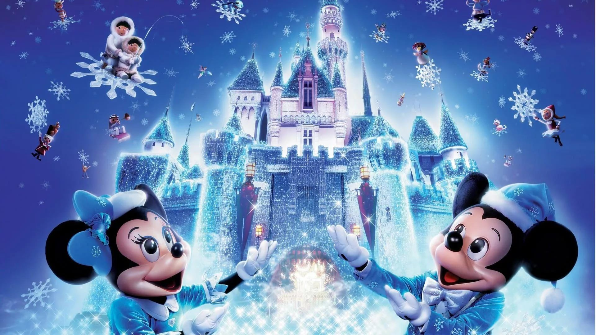 Disney Christmas wallpaper picture hd