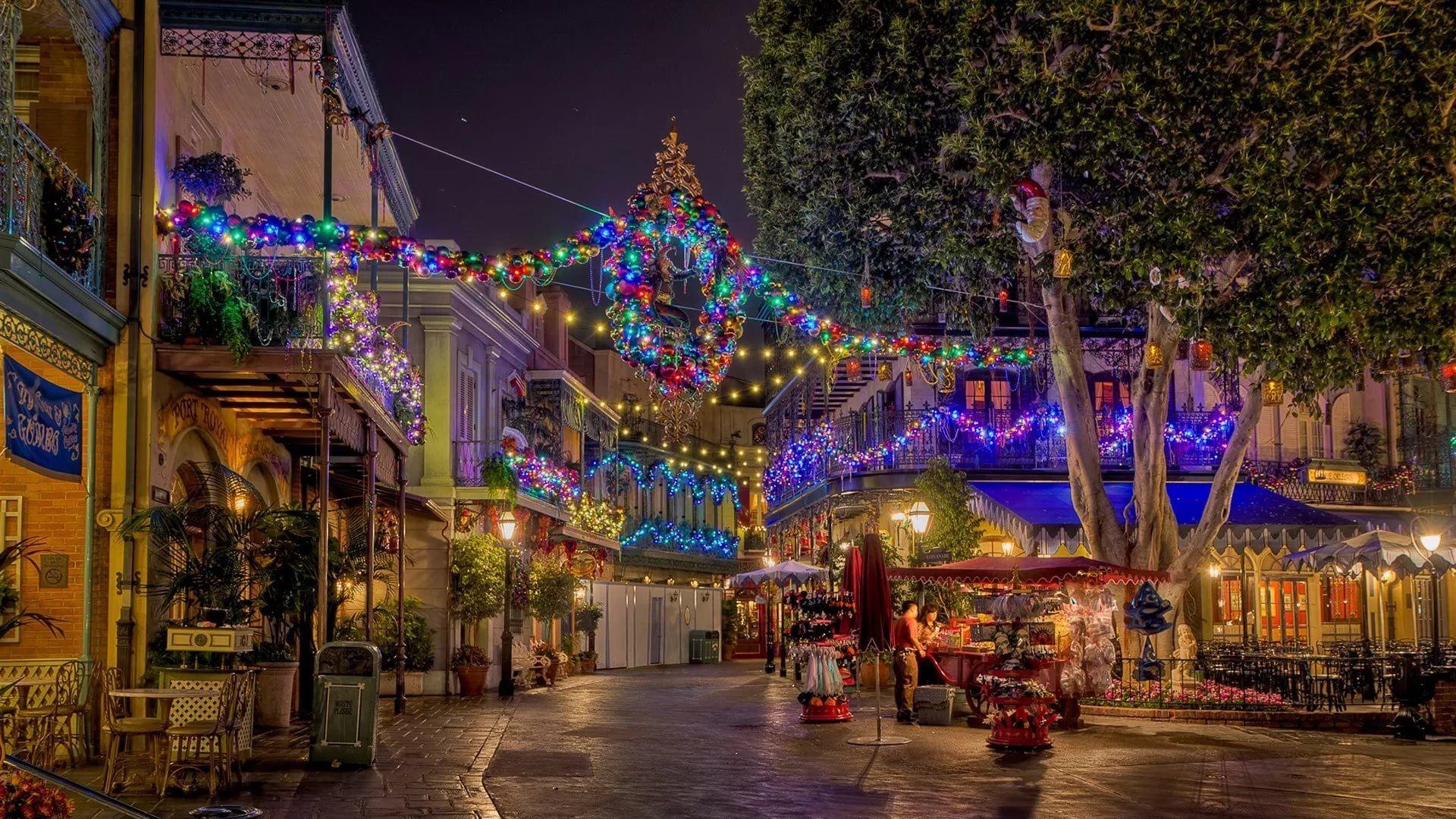 Disney Christmas Full HD Wallpaper