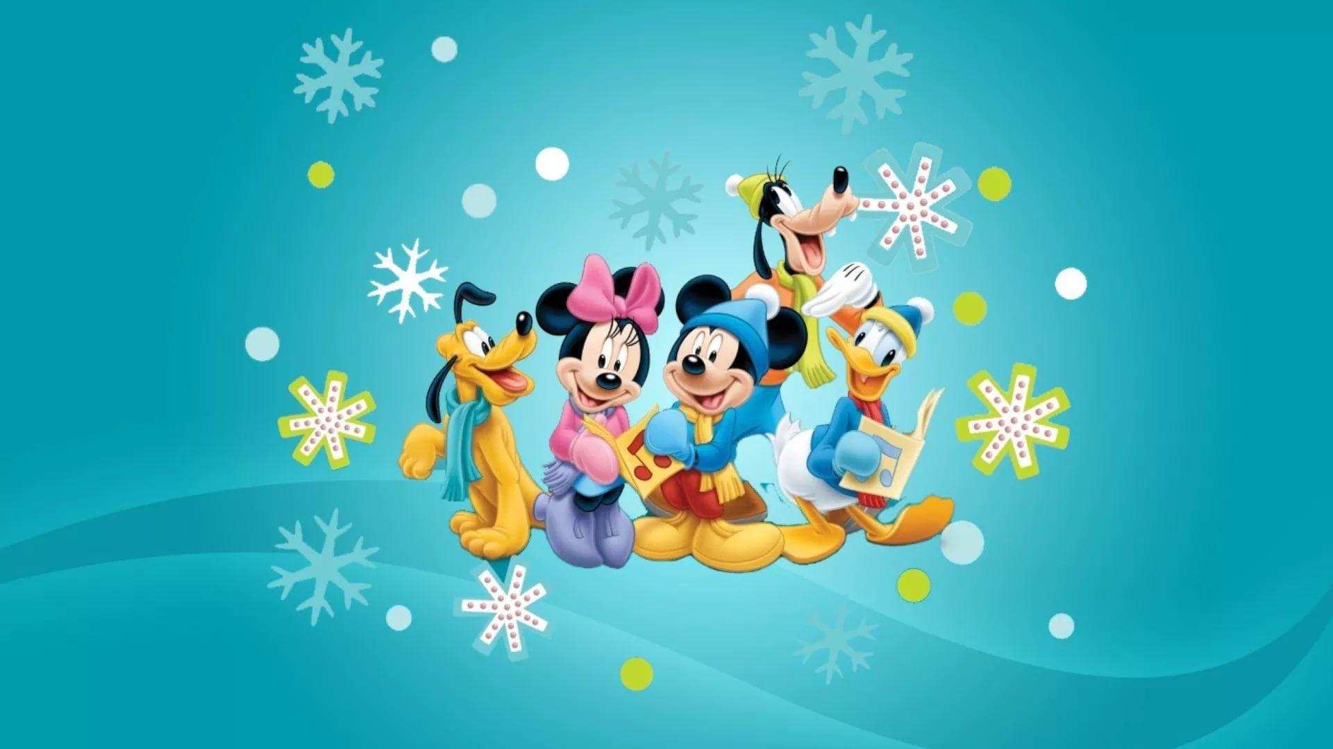 Disney Christmas Wallpaper Theme