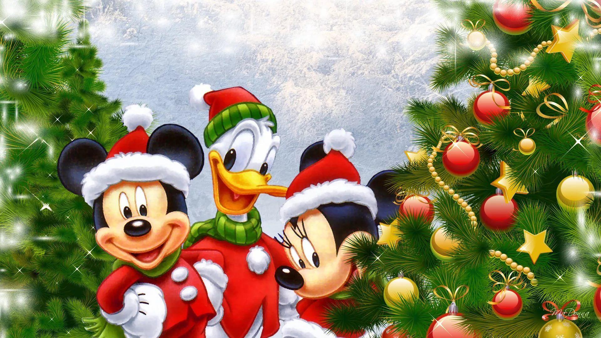 Disney Christmas hd wallpaper 1080