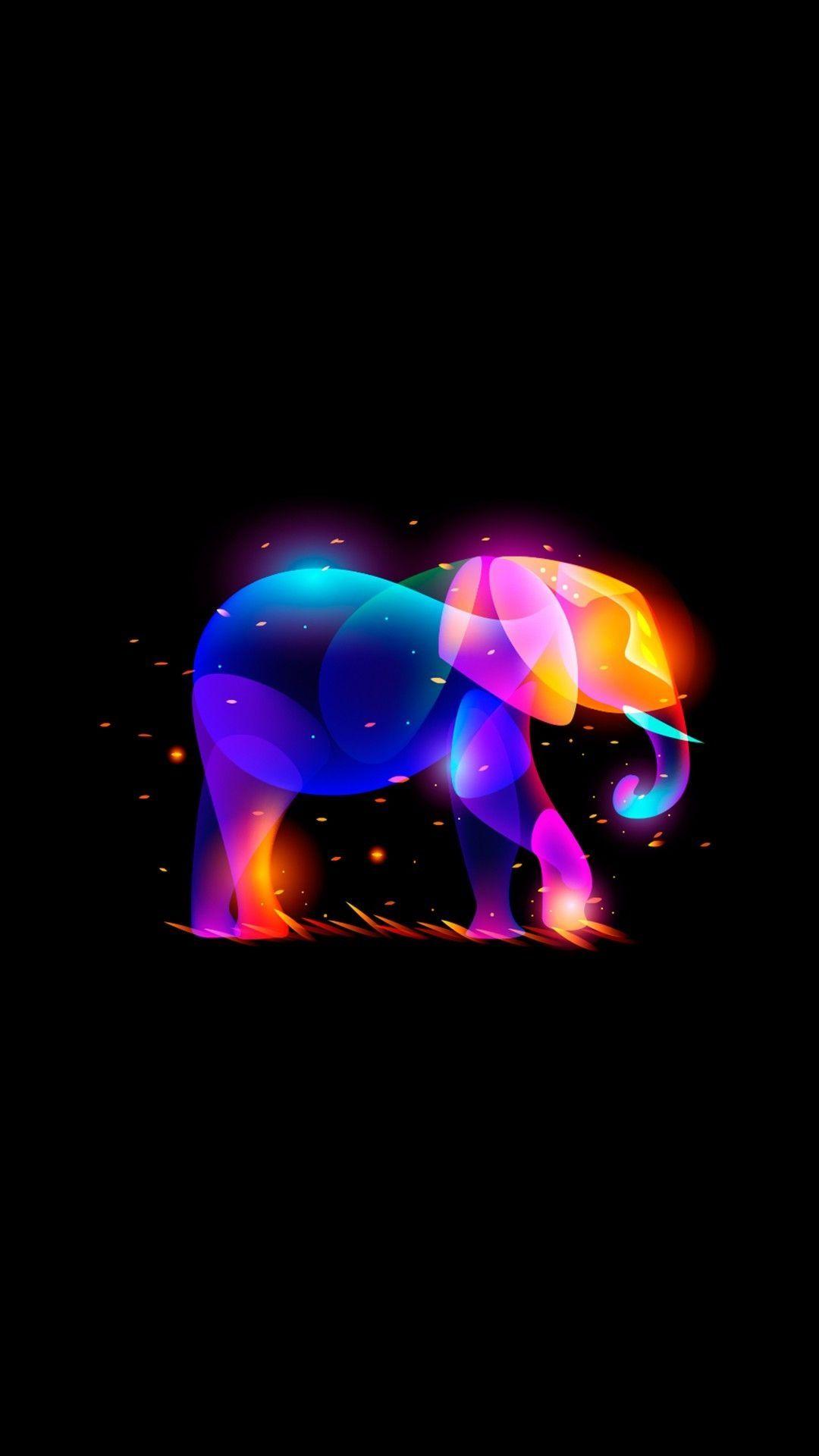 Elephant iPhone xs wallpaper download
