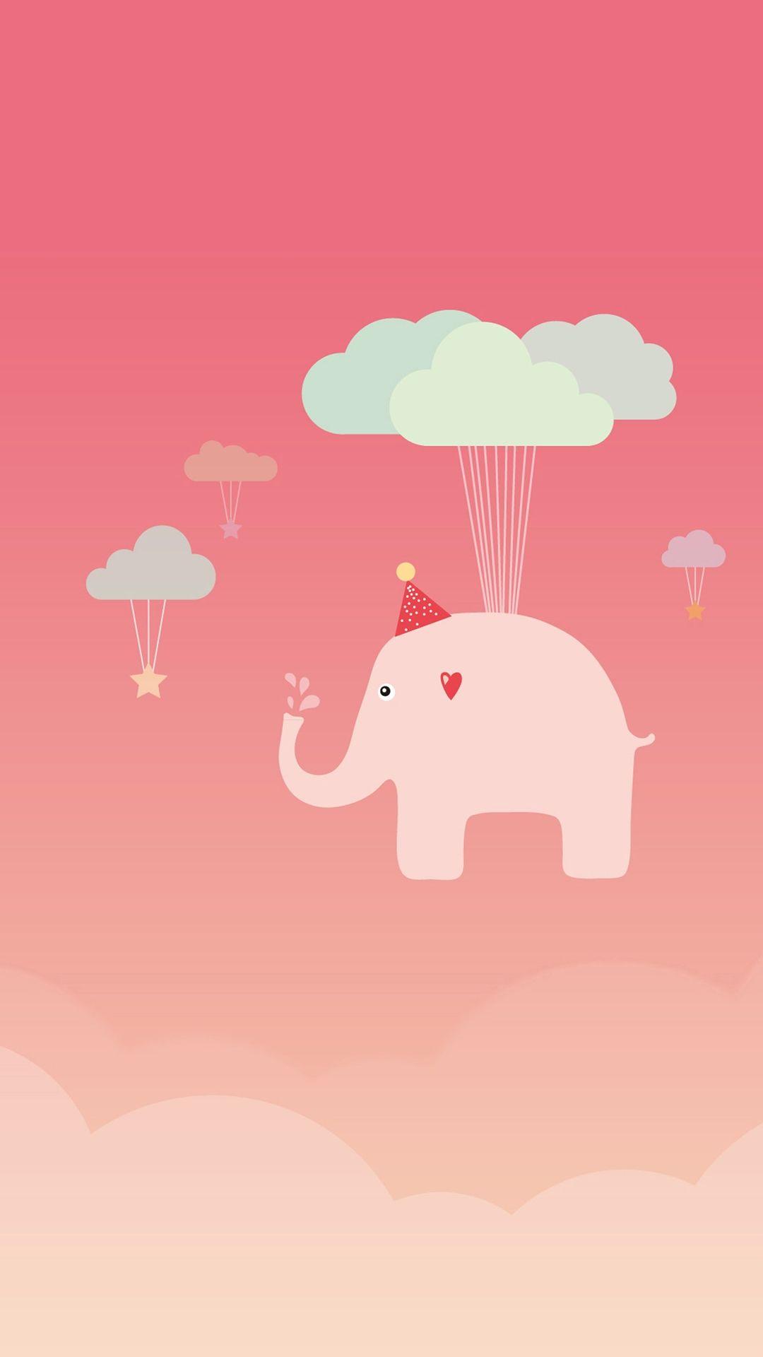 Elephant iPhone 8 wallpaper