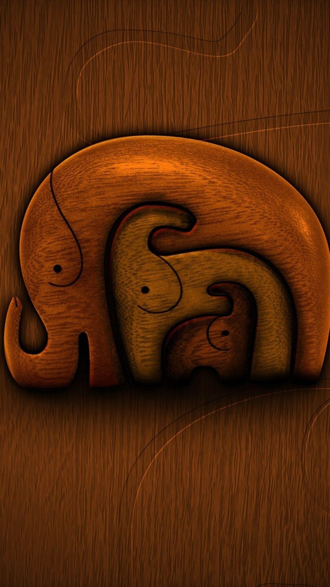 Elephant iPhone 5s wallpaper